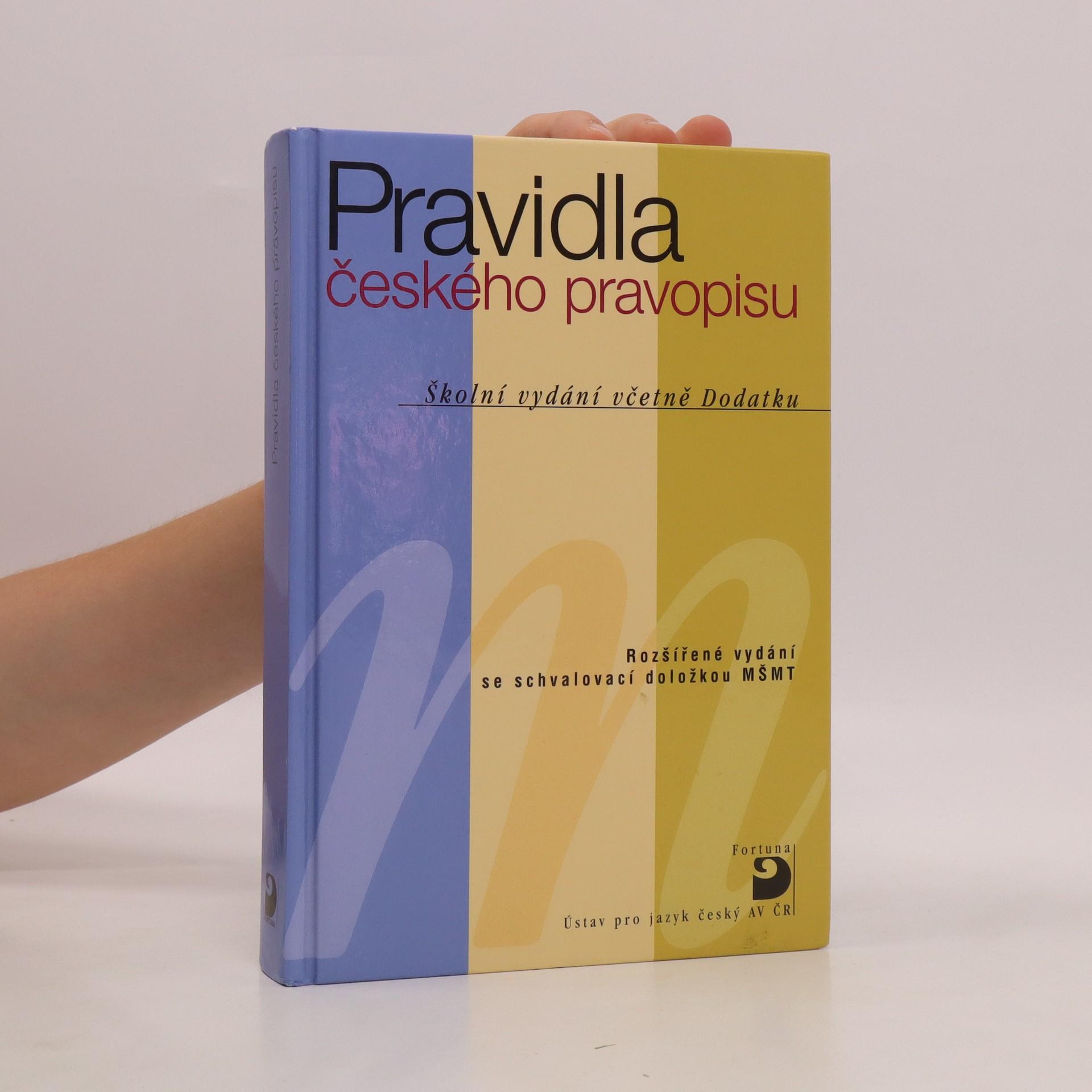 antikvární kniha Pravidla českého pravopisu, 2011