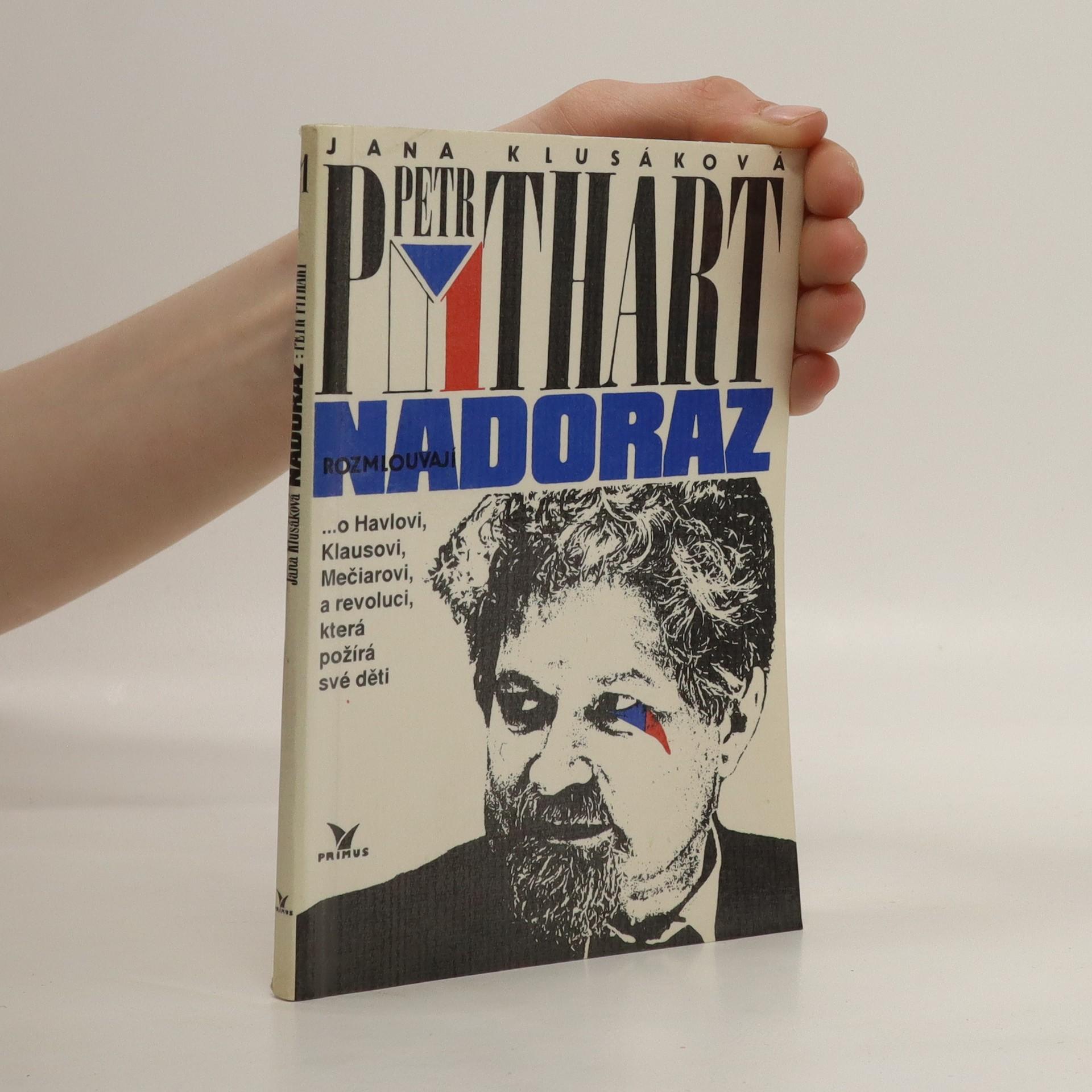 antikvární kniha Jana Klusáková a Petr Pithart rozmlouvají nadoraz, 1992