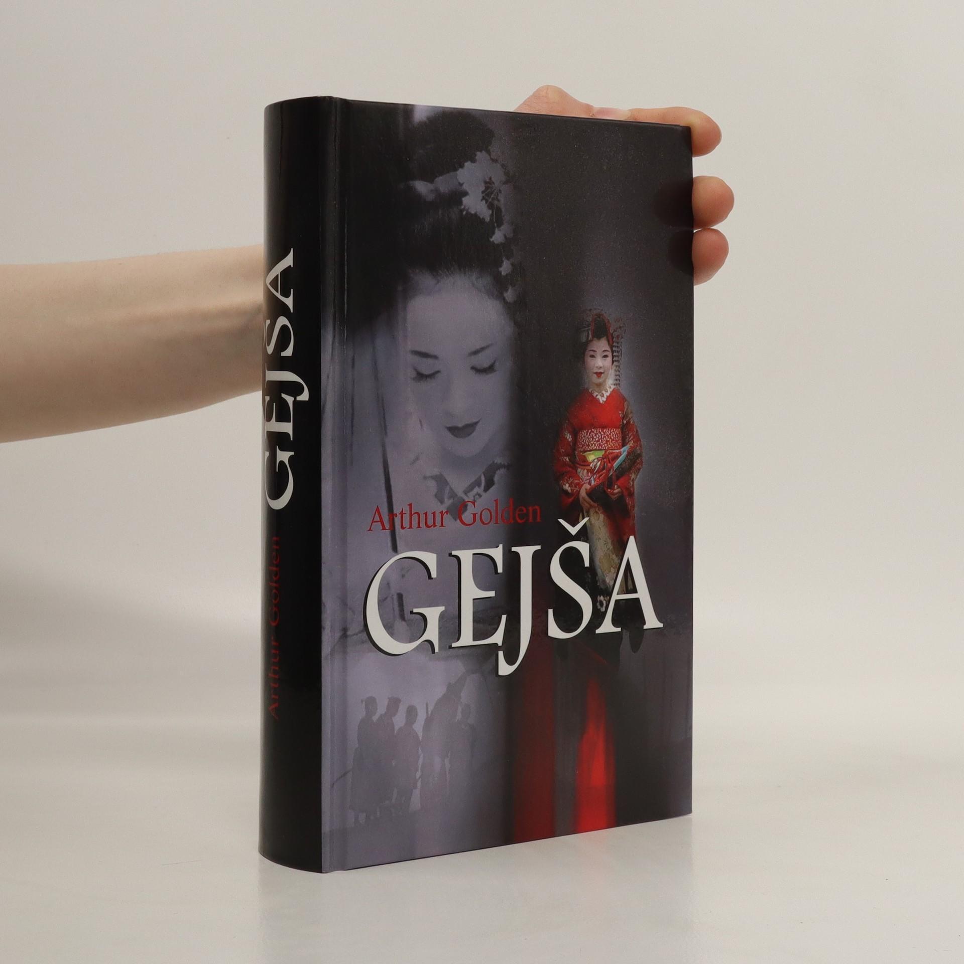 antikvární kniha Gejša, 2016