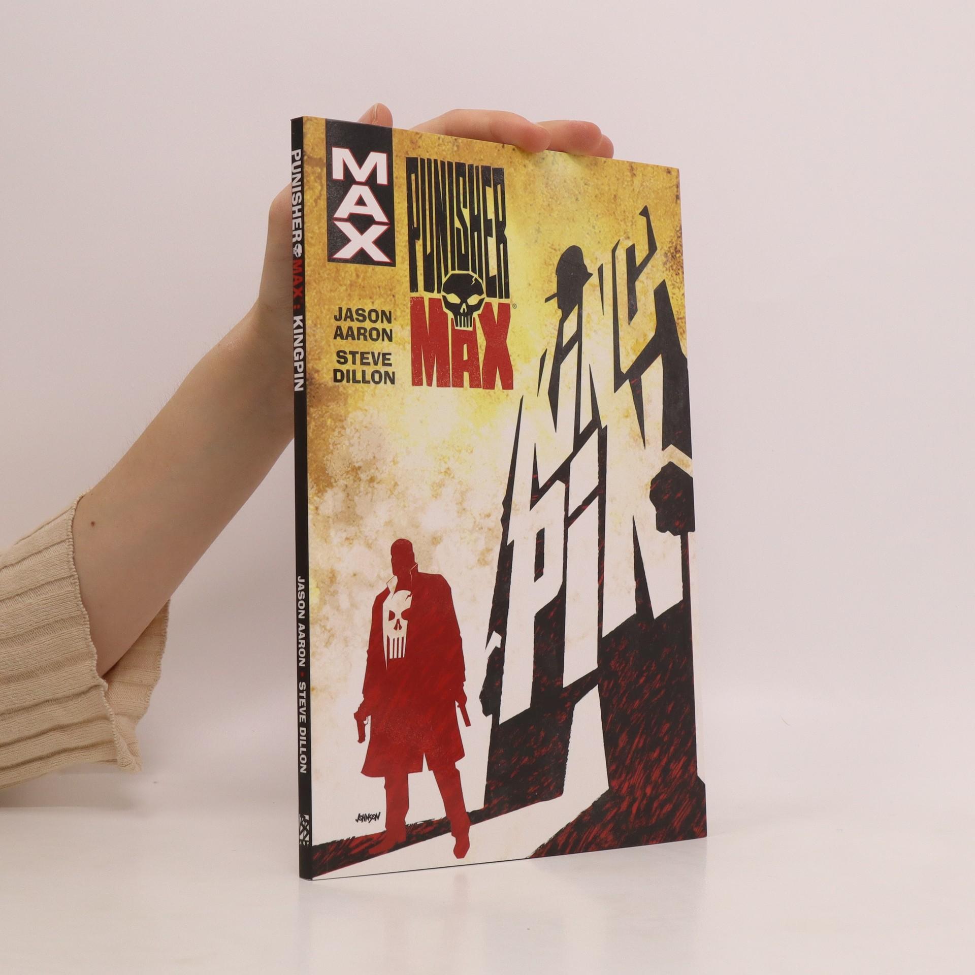 antikvární kniha Punisher Max. Kingpin, 2018
