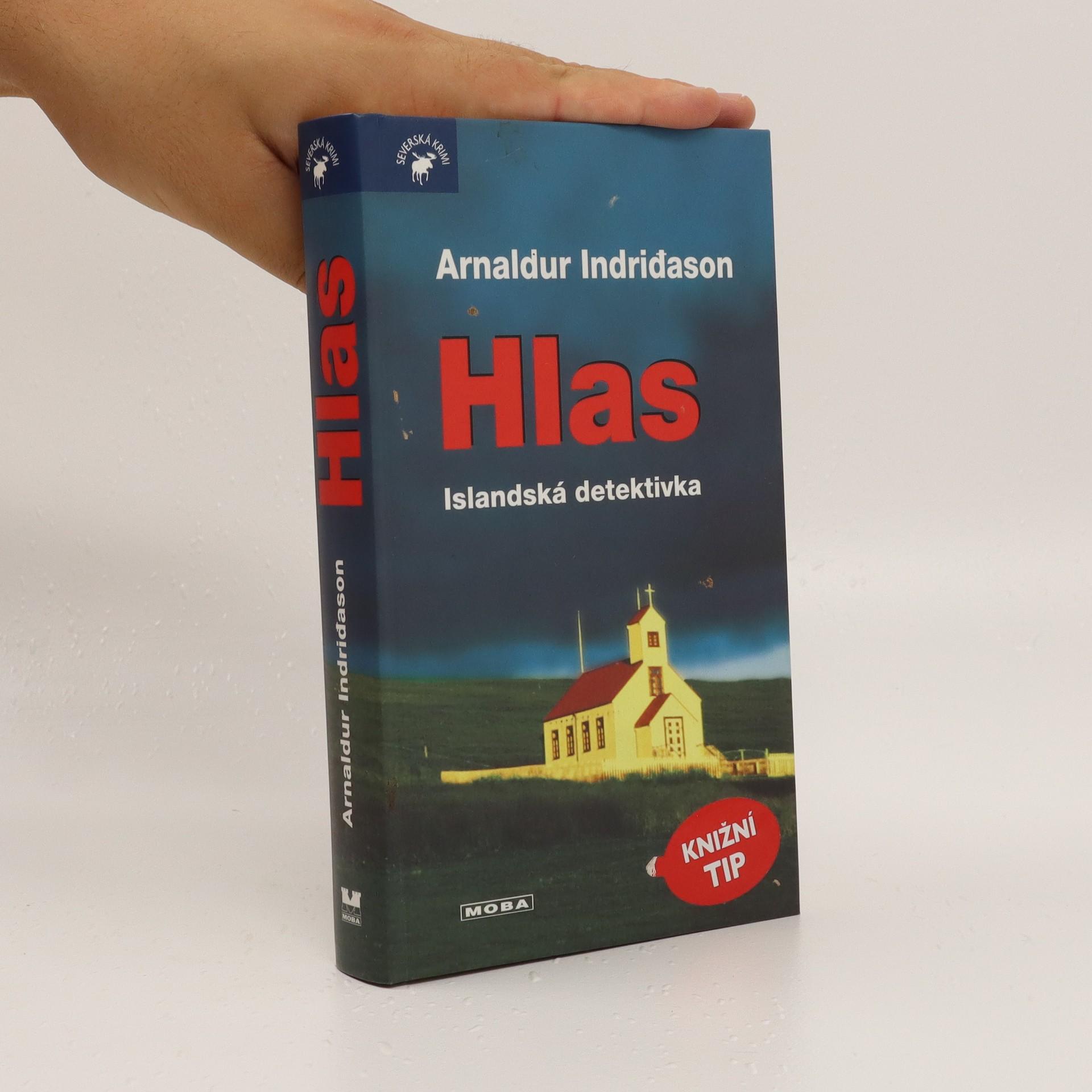 antikvární kniha Hlas : islandská detektivka, neuveden