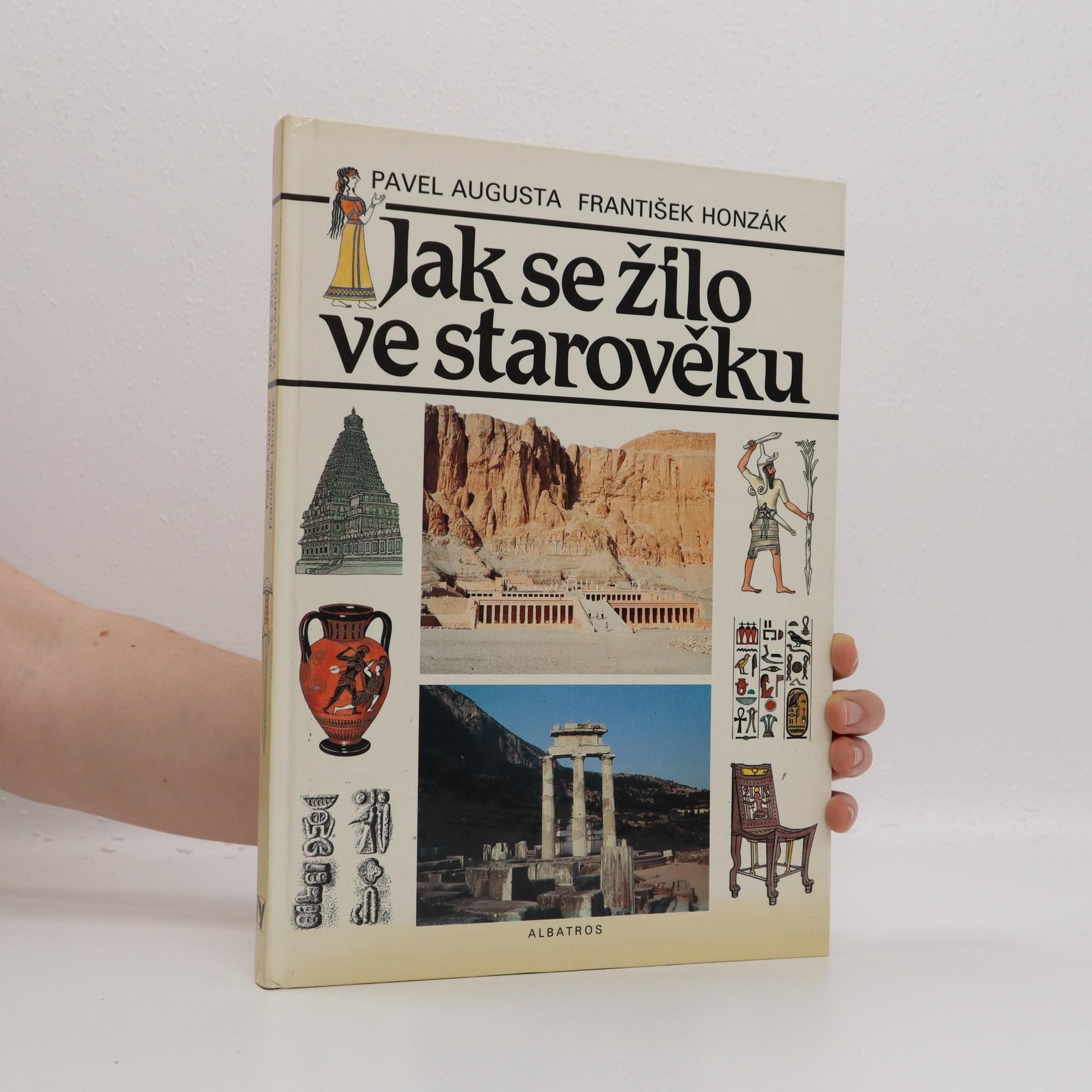 antikvární kniha Jak se žilo ve starověku, 1989