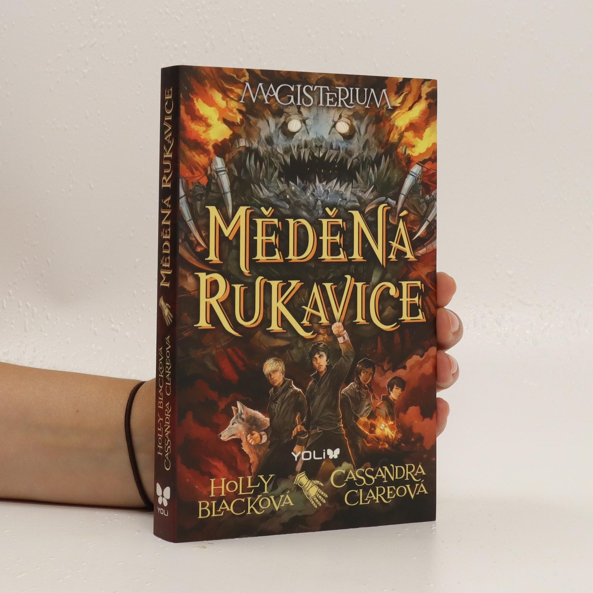 antikvární kniha Magisterium. Měděná rukavice., 2015