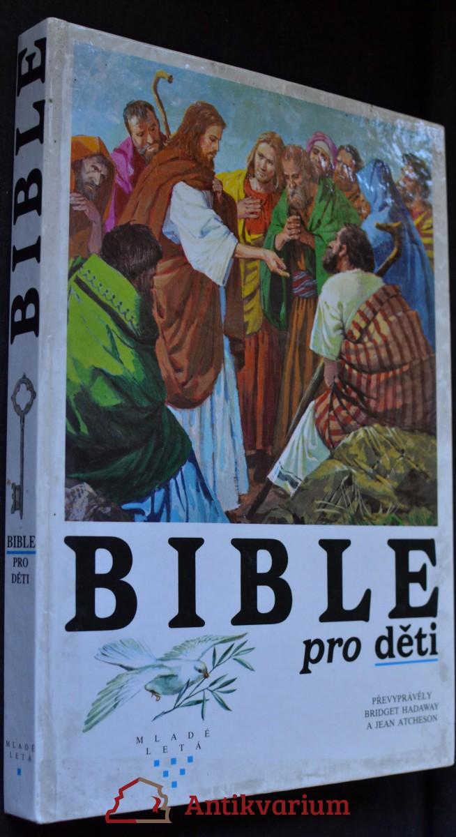 antikvární kniha Bible pro děti, 1991