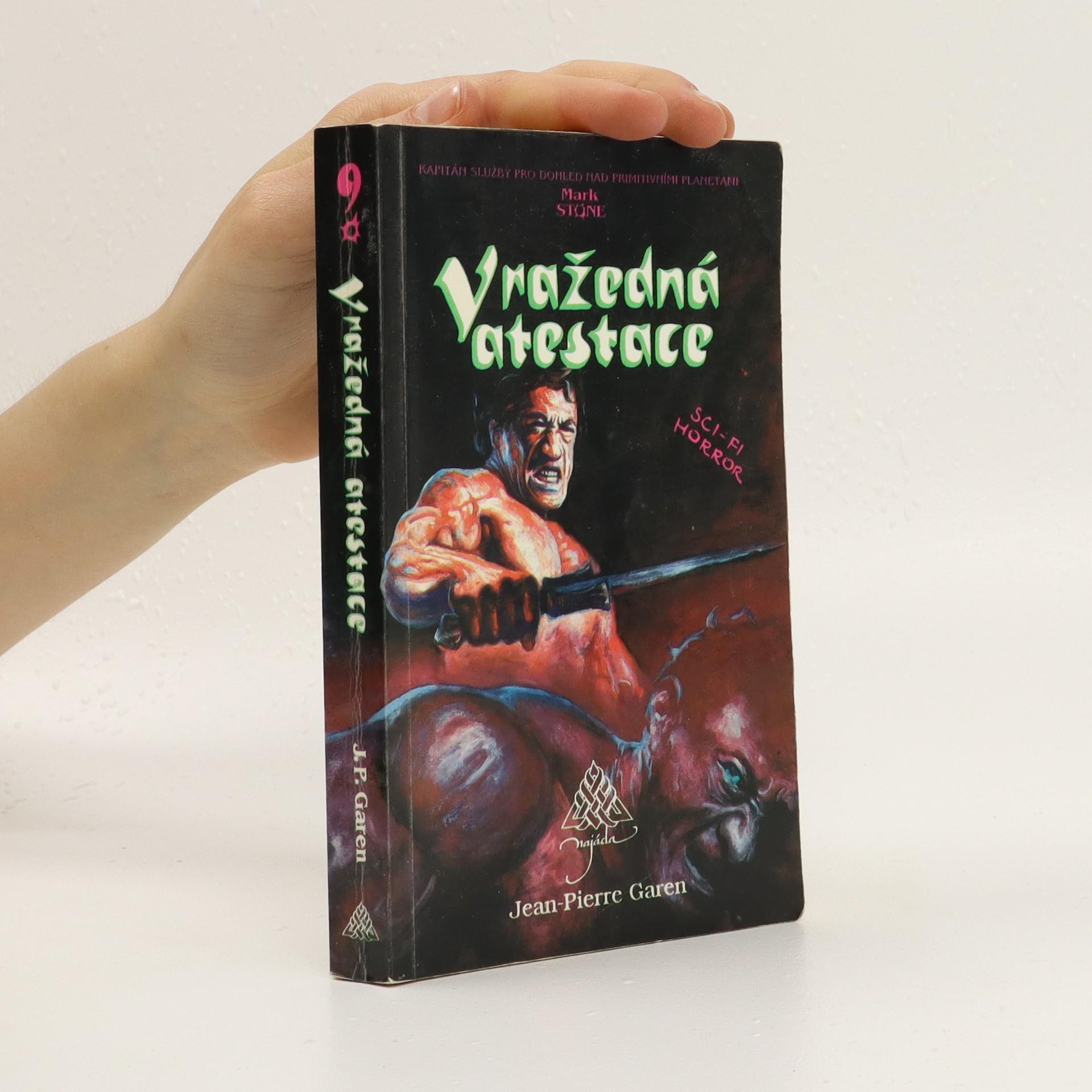 antikvární kniha Vražedná atestace, 1993