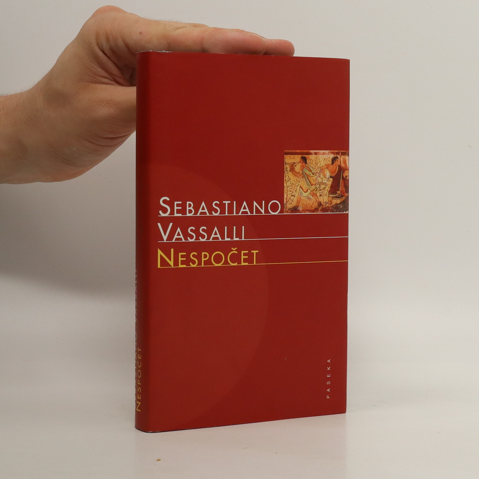 antikvární kniha Nespočet. Vergilius s Maecenatem v zemi Rasnů, 2003