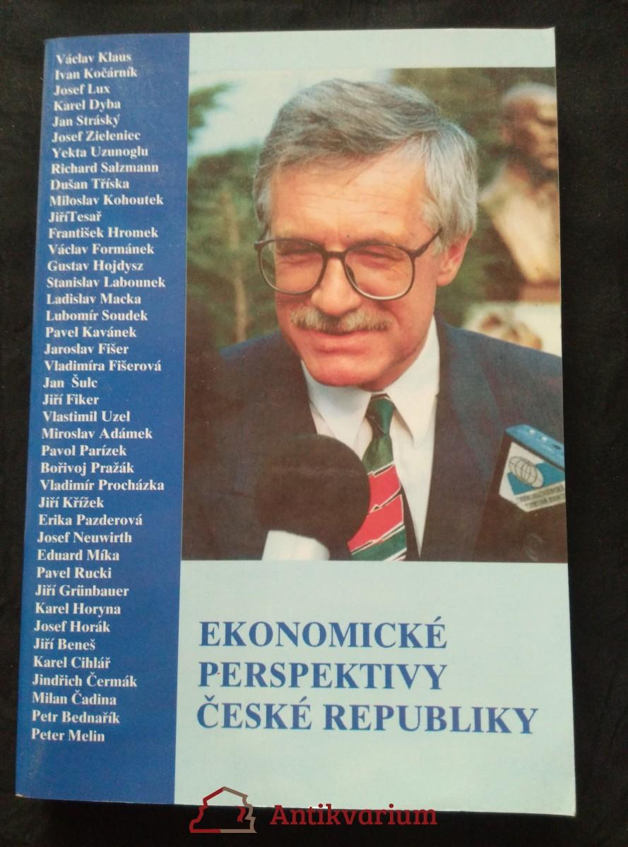 antikvární kniha Ekonomické perspektivy ČR (Obr, 320 s.), 1993