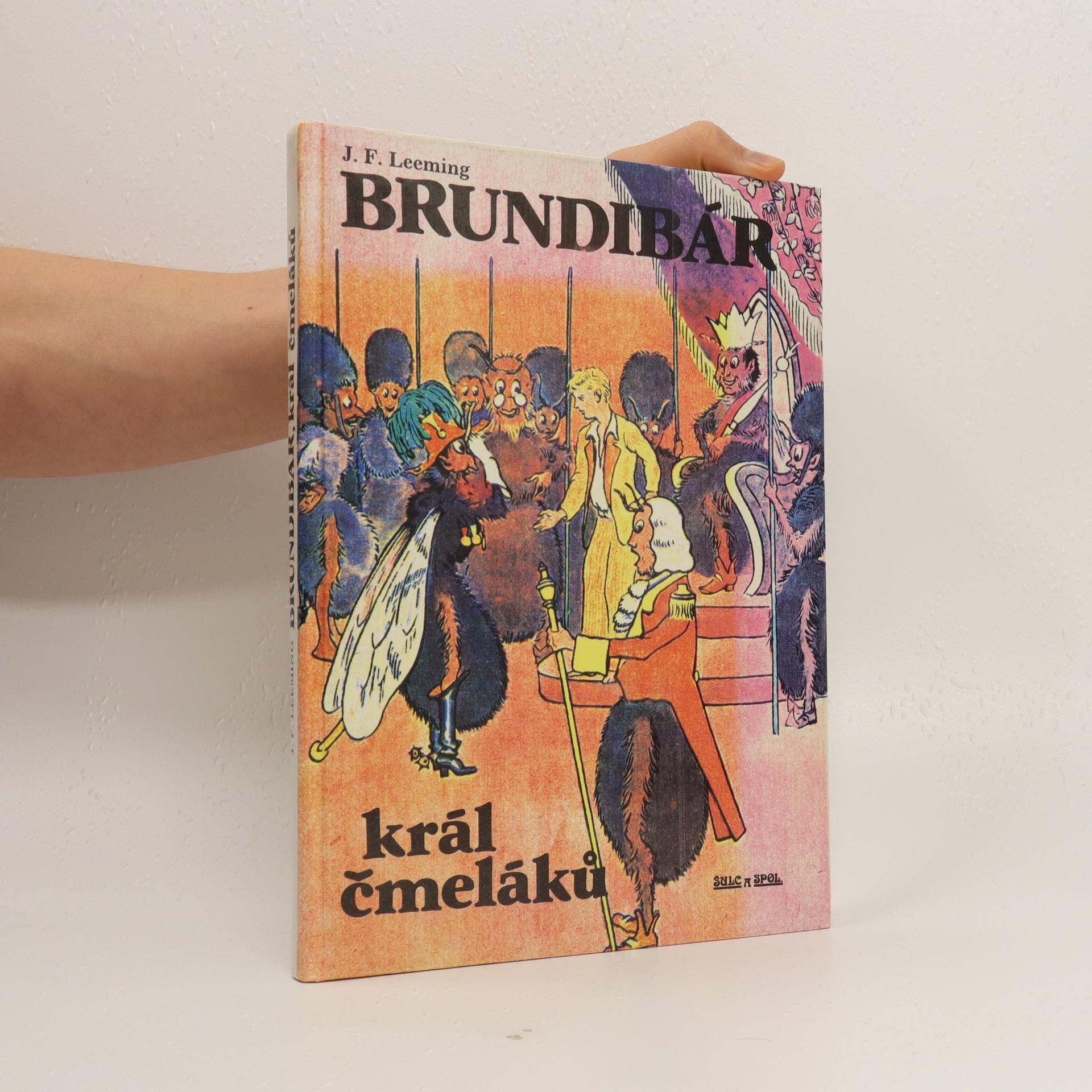 antikvární kniha Brundibár, král čmeláků, 1991