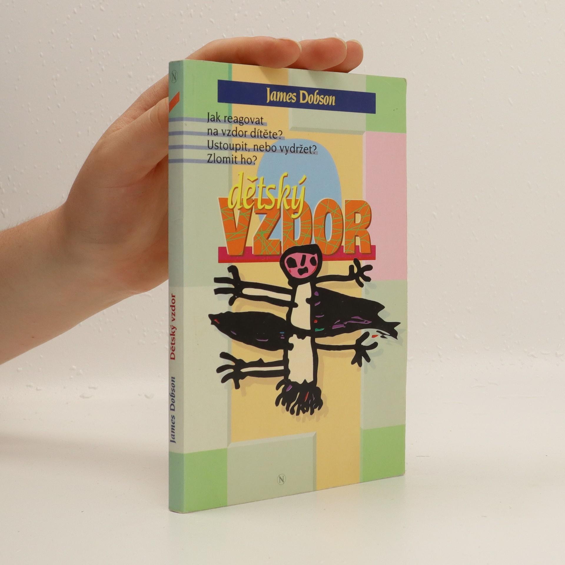 antikvární kniha Dětský vzdor, 1995