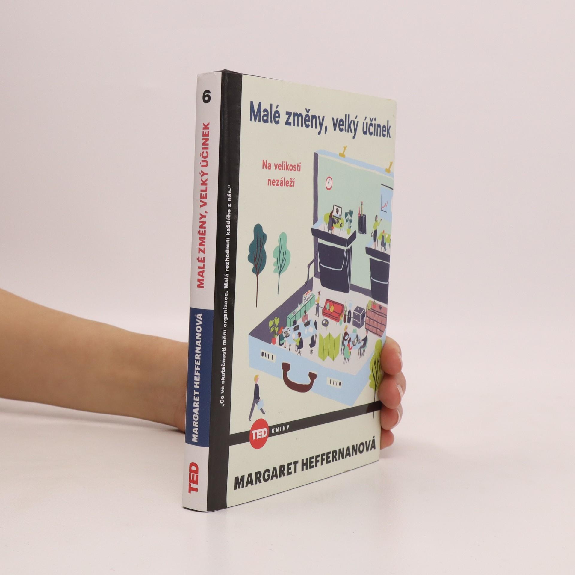 antikvární kniha Malé změny, velký účinek, 2016