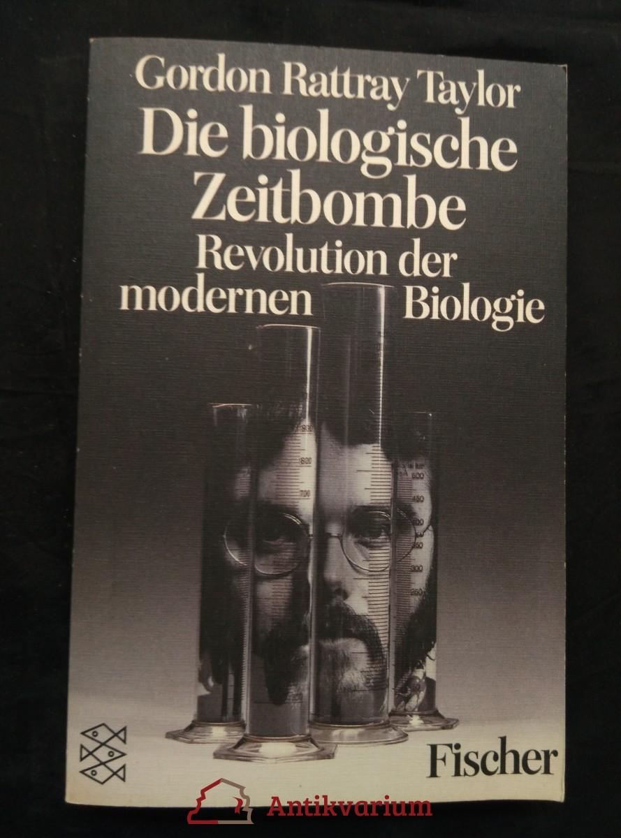 antikvární kniha Die biologische Zeitbombe - Revolution der modernen Biologie (Obr, 318 s.), 1987