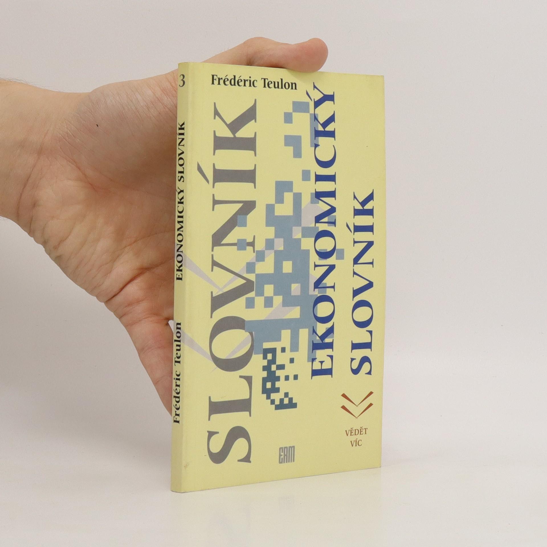 antikvární kniha Ekonomický slovník, 1995