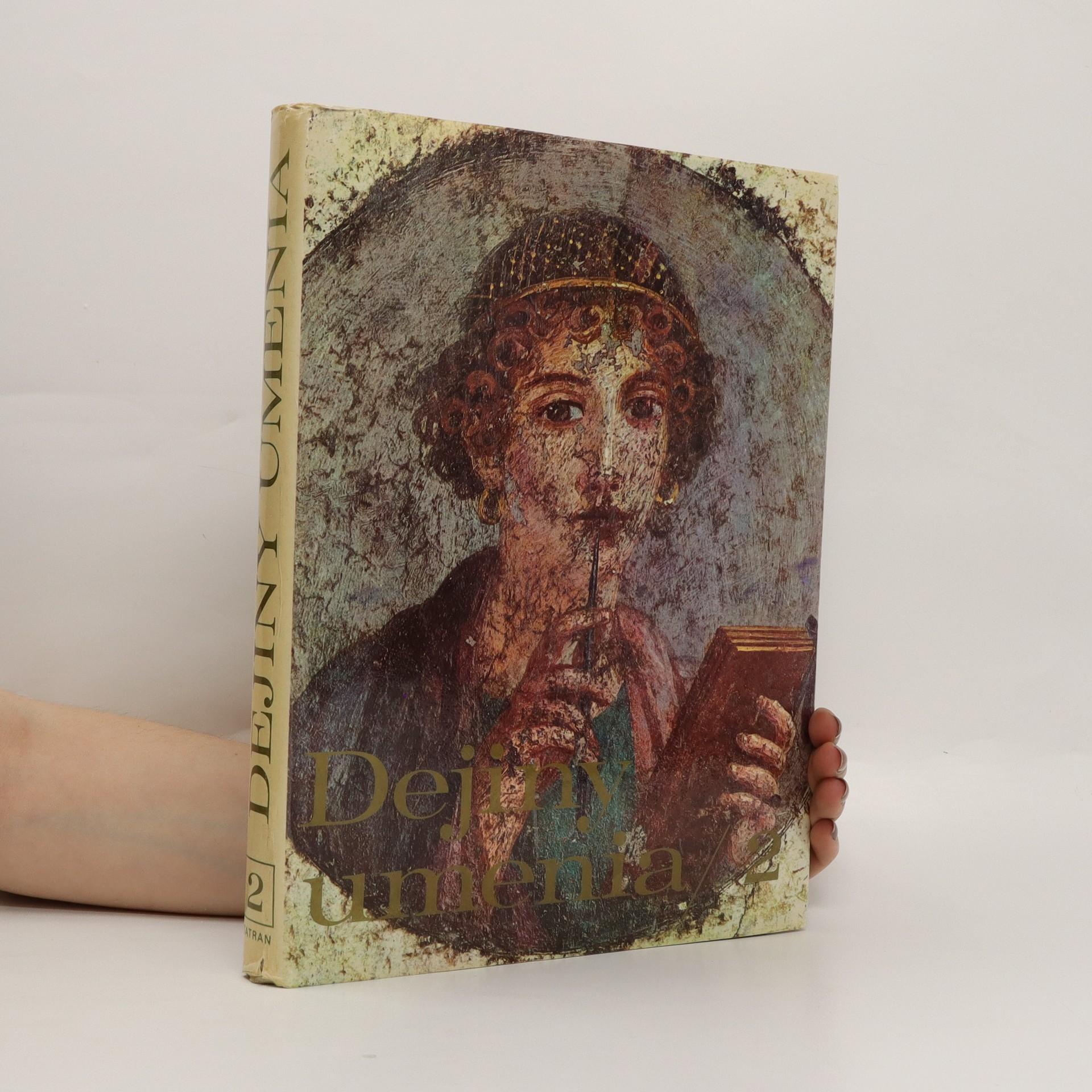 antikvární kniha Dejiny umenia. 2. díl., 1982