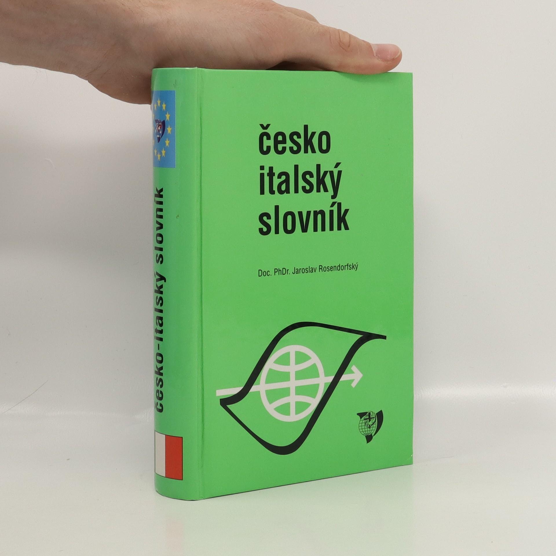 antikvární kniha Česko-italský slovník, neuveden