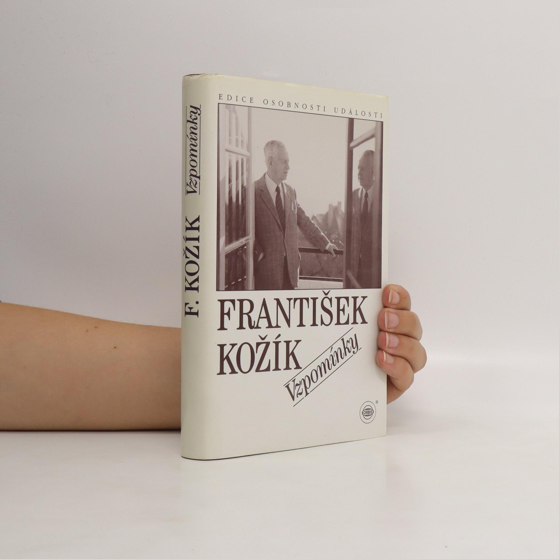 antikvární kniha Vzpomínky., 1995