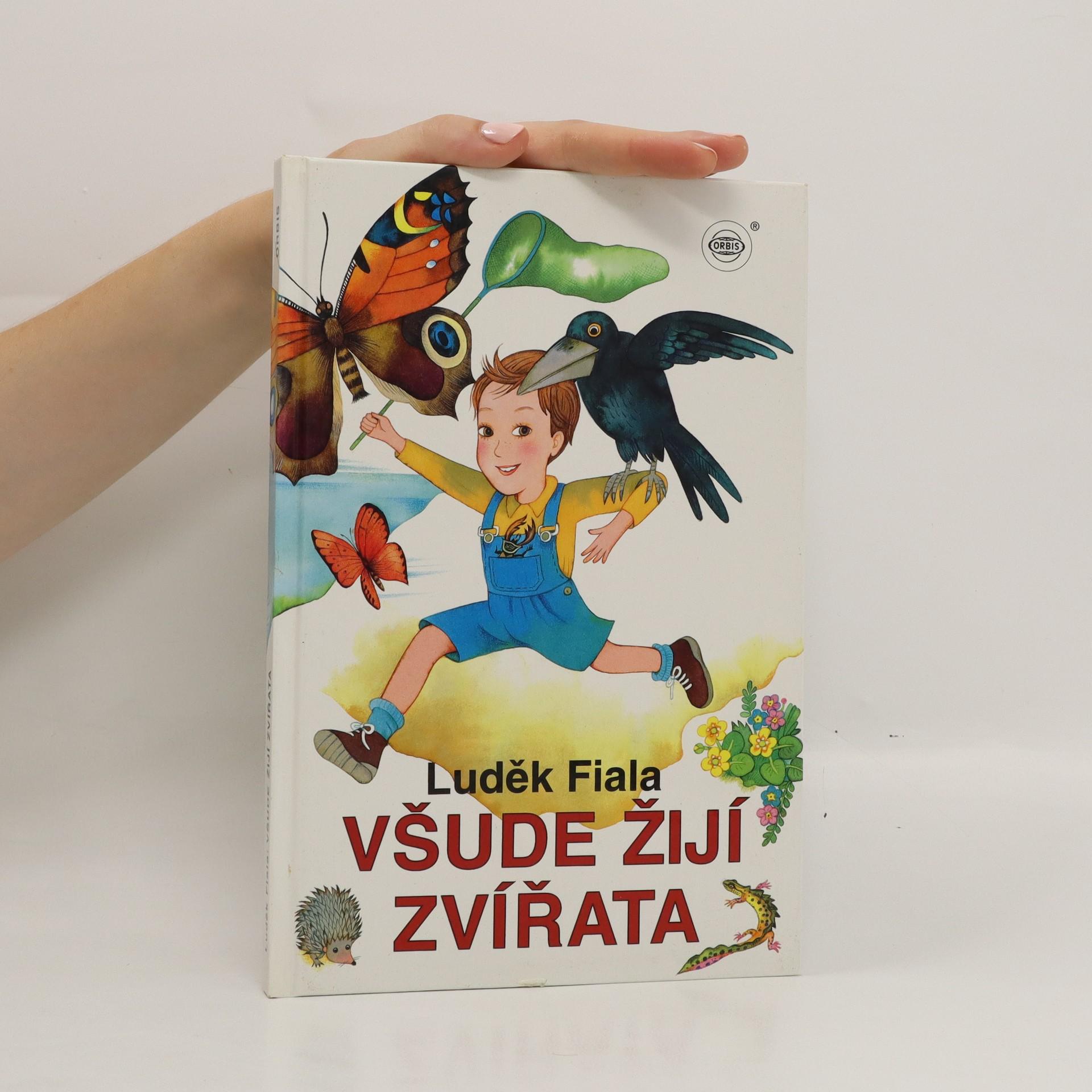 antikvární kniha Všude žijí zvířata, 1996