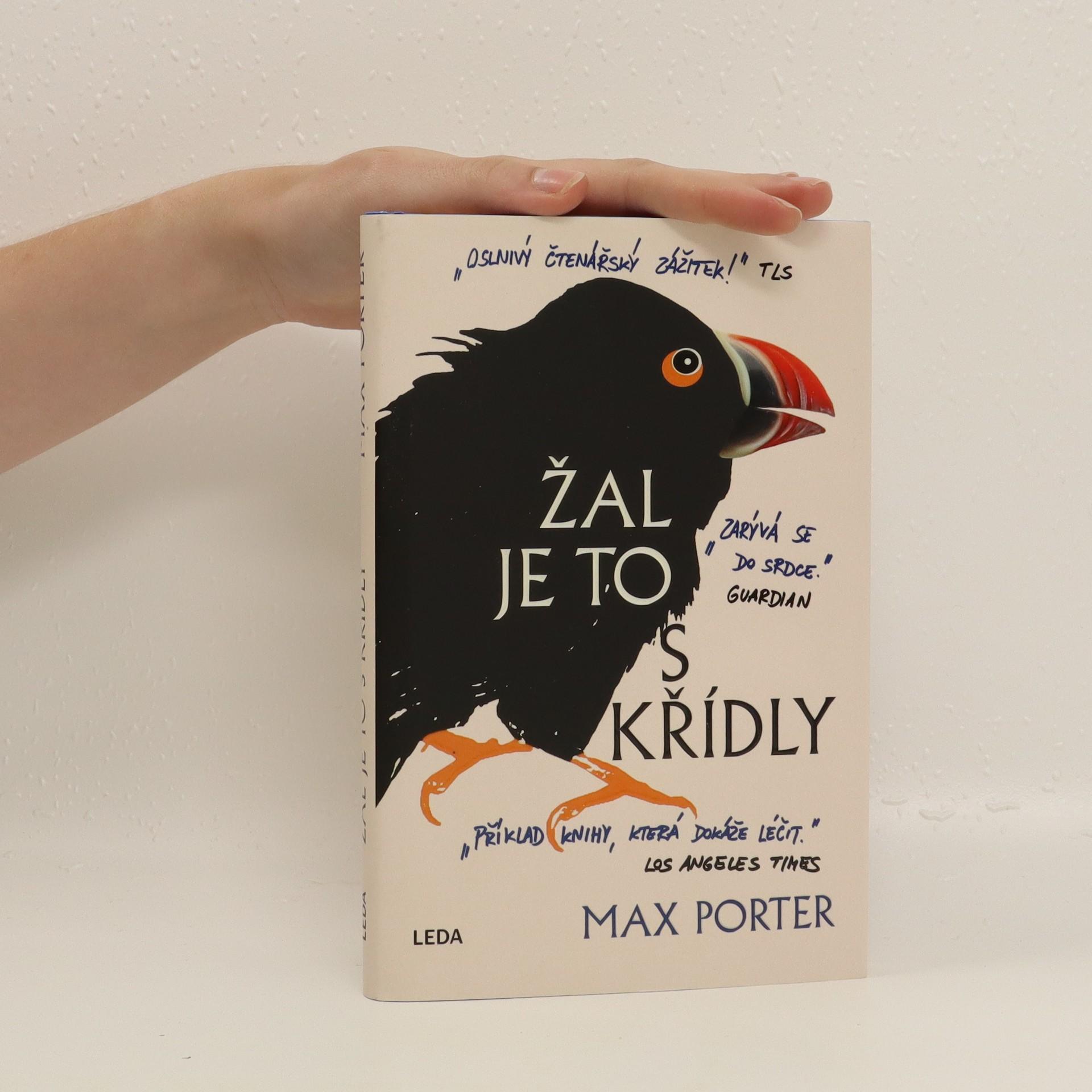 antikvární kniha Žal je to s křídly, 2018