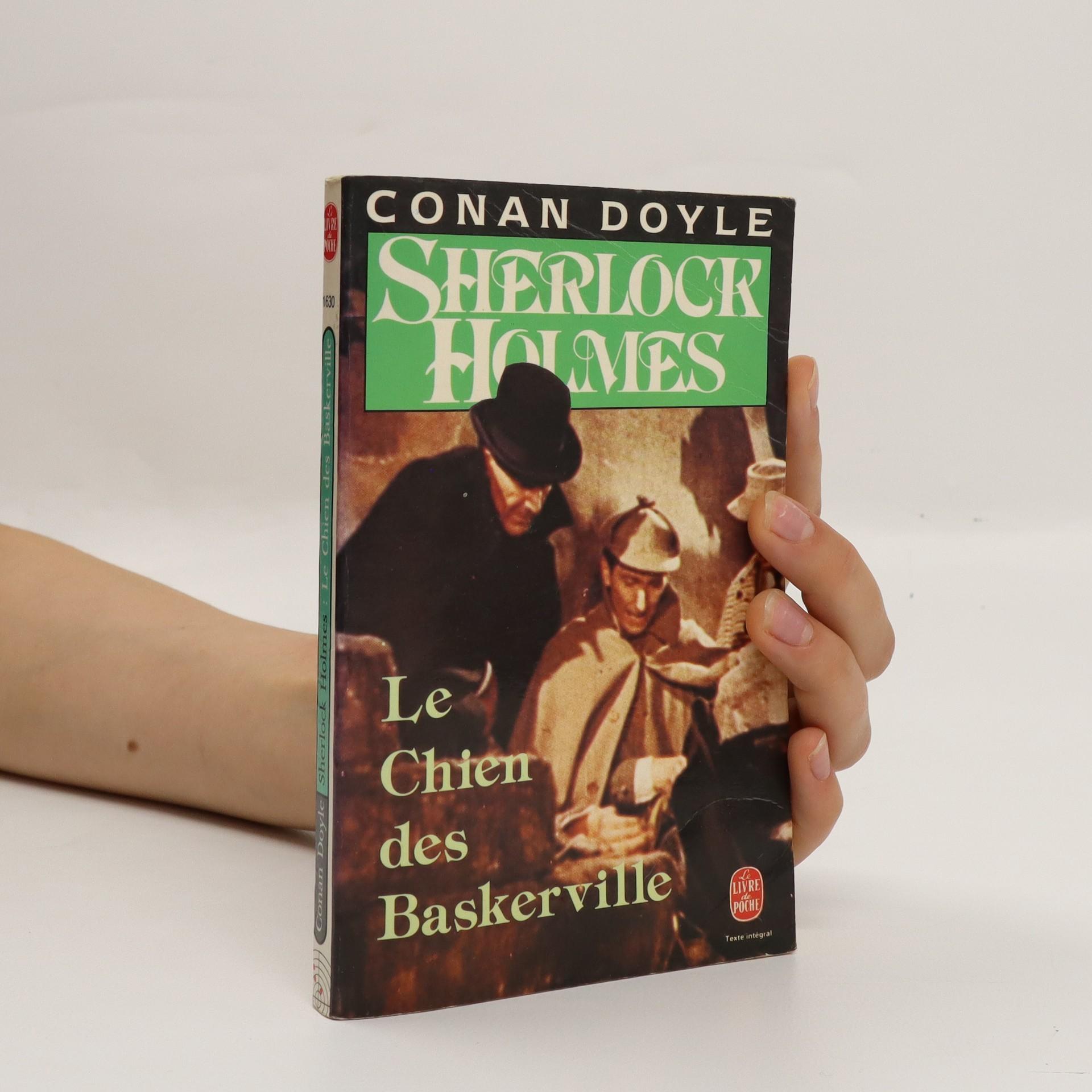 antikvární kniha Sherlock Holmes. Le Chien des Baskerville, neuveden