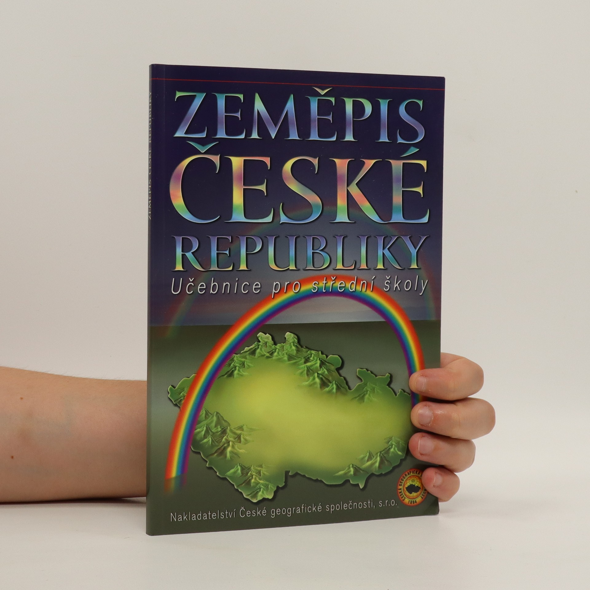 antikvární kniha Zeměpis České republiky. učebnice pro střední školy, 2009