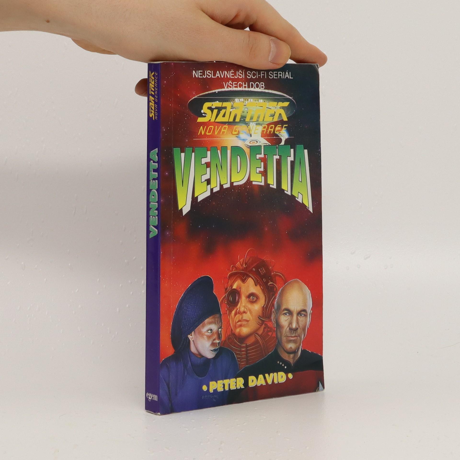 antikvární kniha Vendetta, 1995