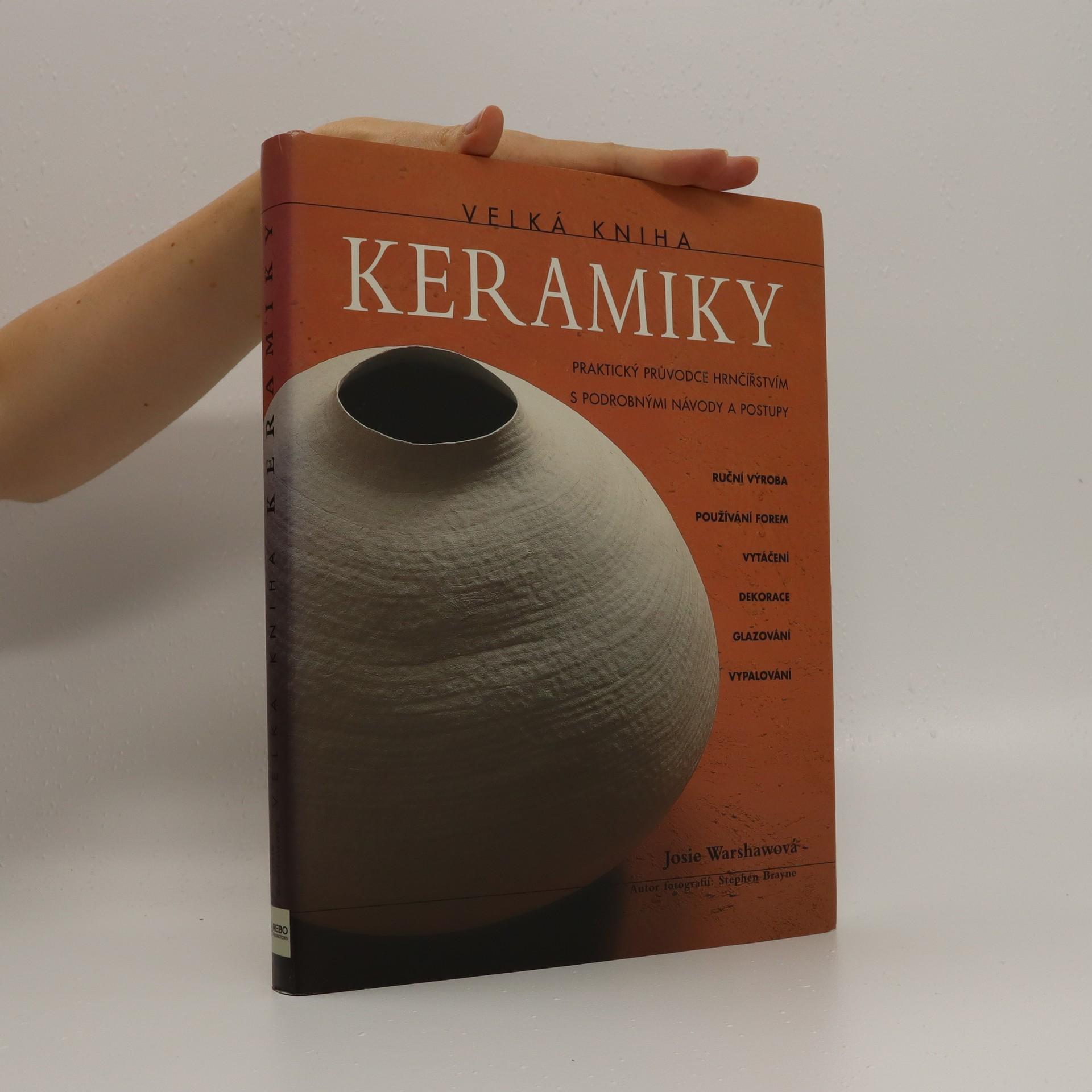 antikvární kniha Velká kniha keramiky, neuveden