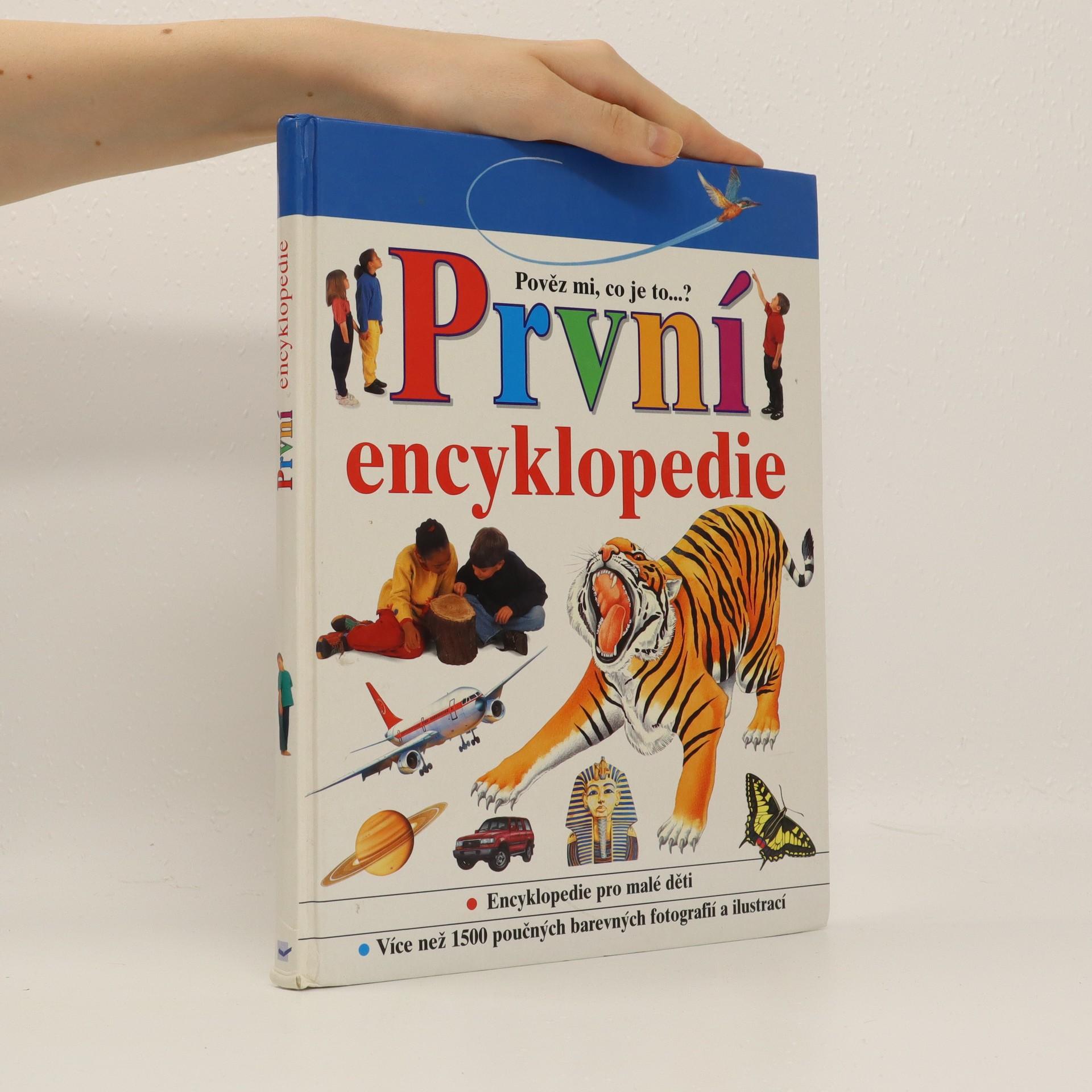 antikvární kniha První encyklopedie, 1998