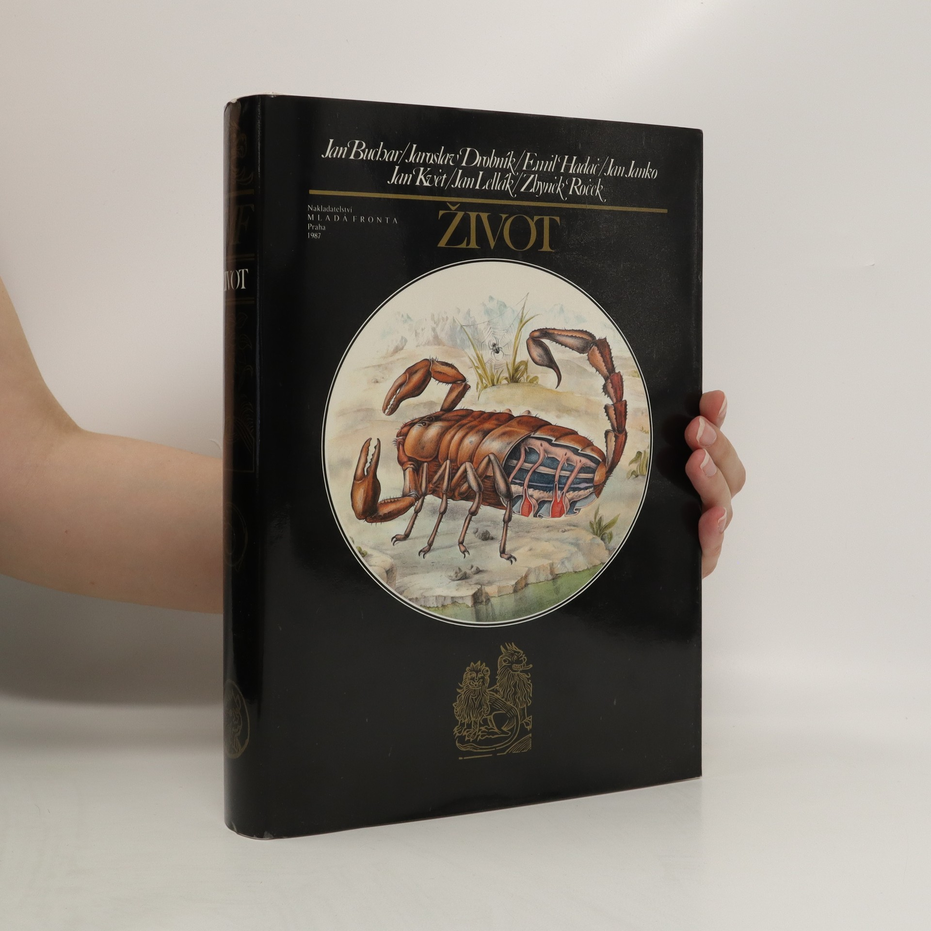 antikvární kniha Život, 1987