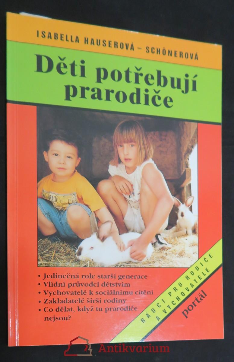 antikvární kniha Děti potřebují prarodiče, 1996