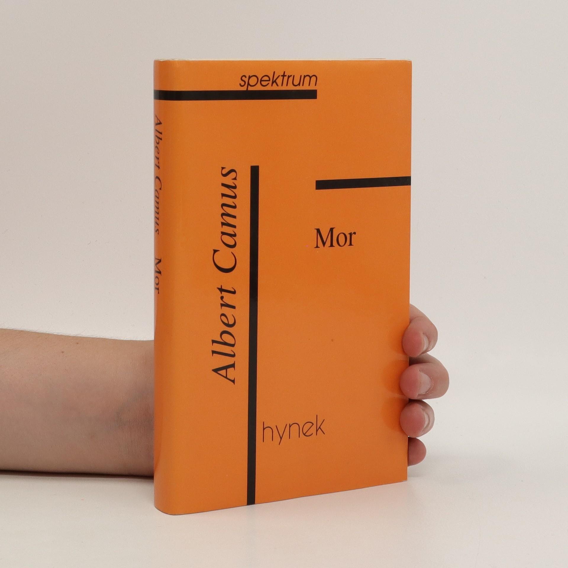 antikvární kniha Mor : román, 1997