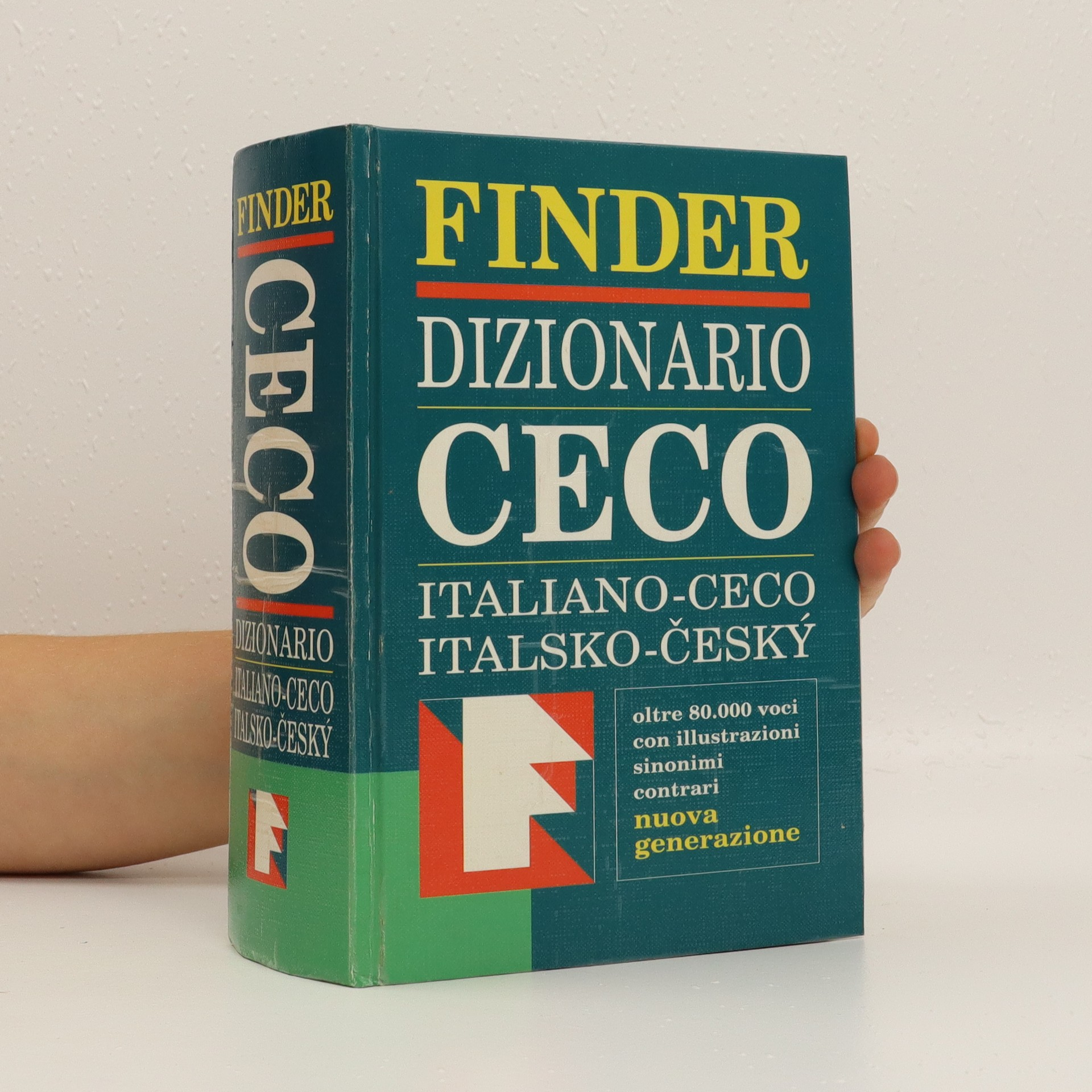 antikvární kniha Dizionario ceco. Italiano-ceco. Italsko-český slovník, 2001