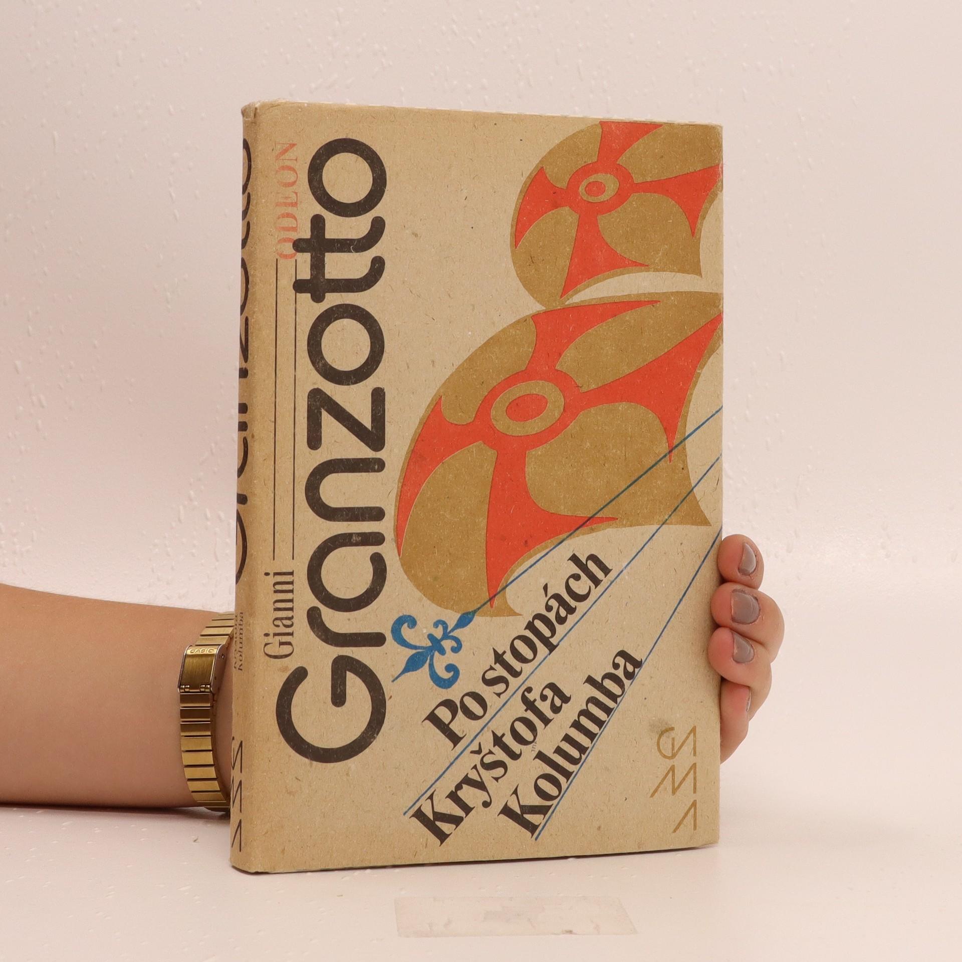 antikvární kniha Po stopách Kryštofa Kolumba, 1990