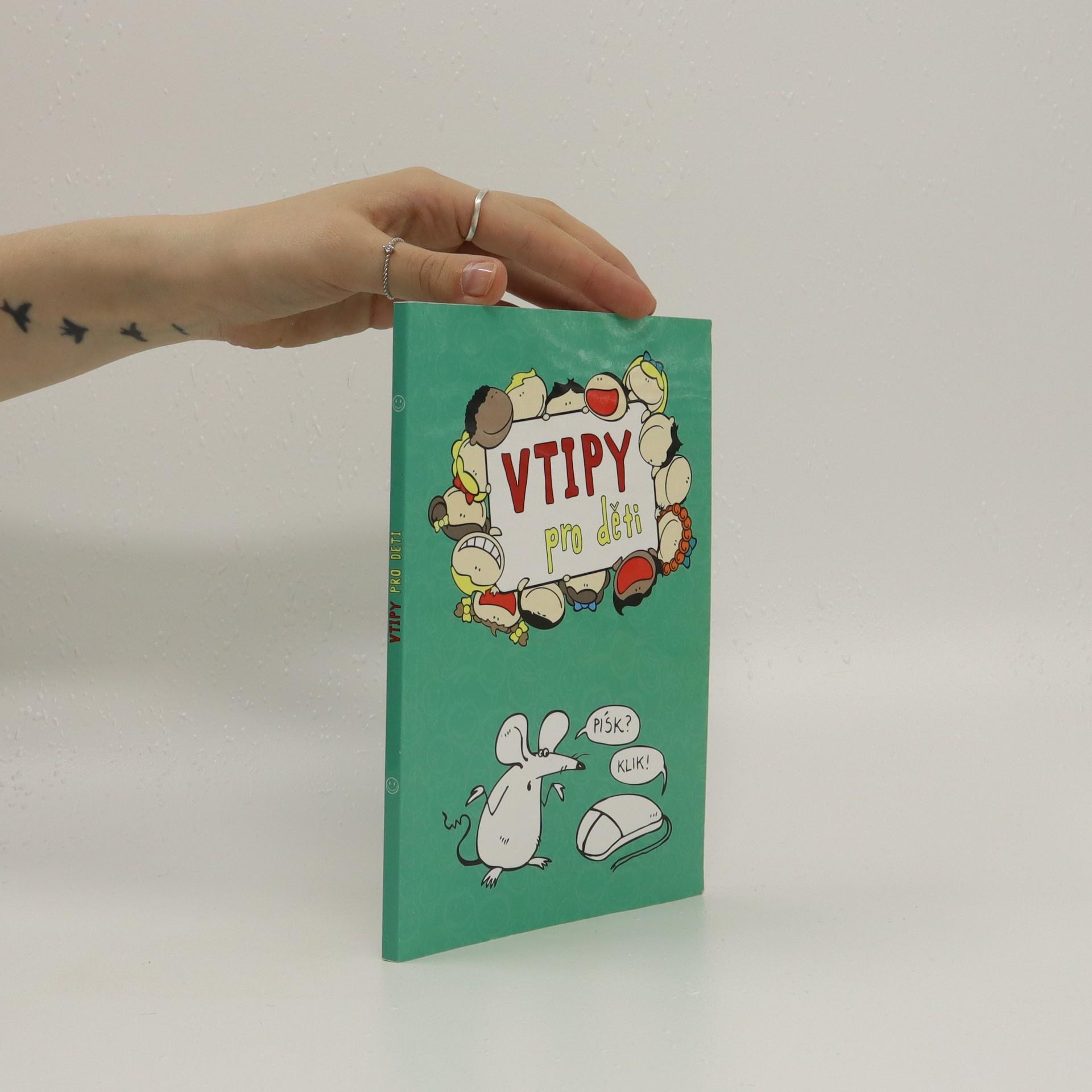antikvární kniha Vtipy pro děti, 2018