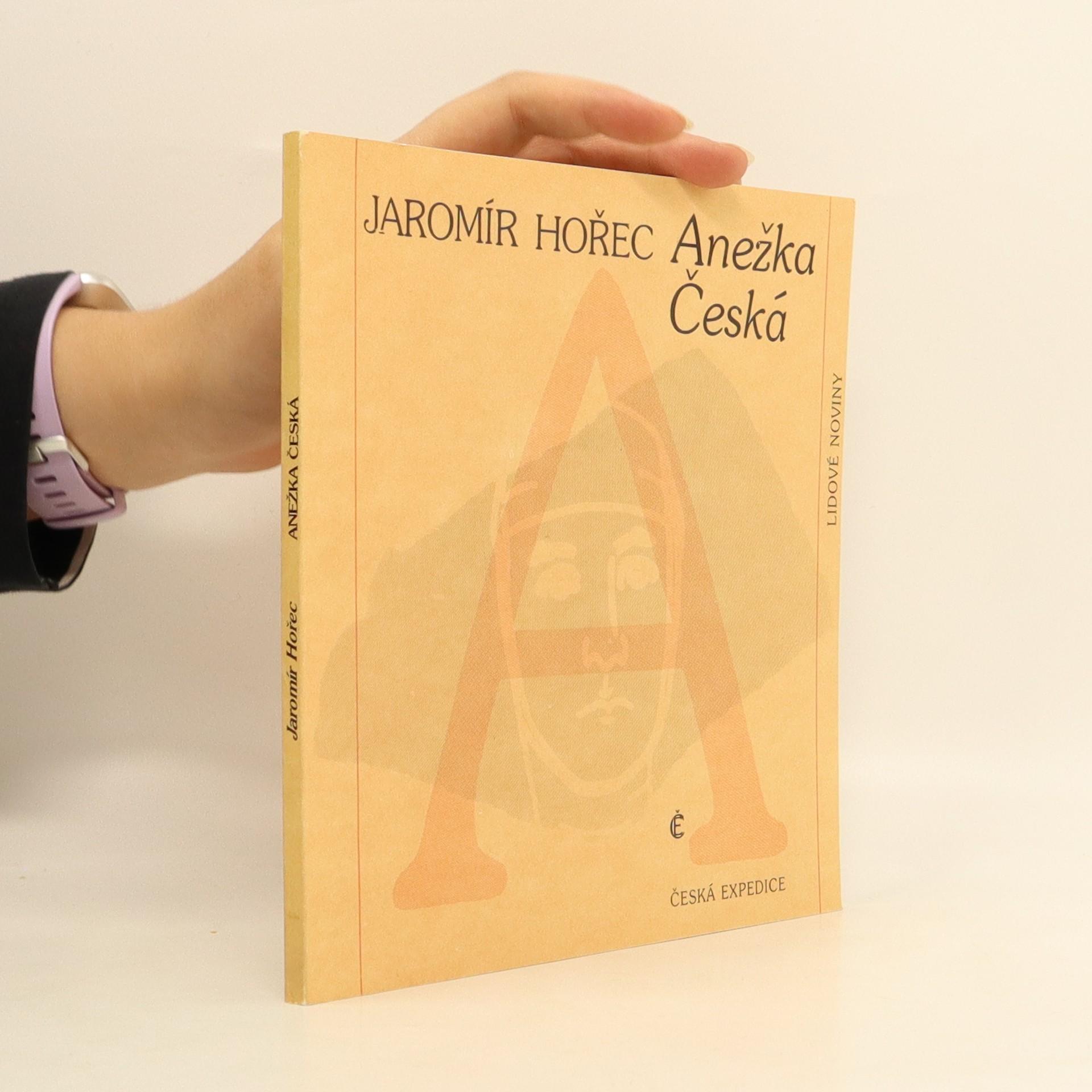 antikvární kniha Anežka Česká, 1990