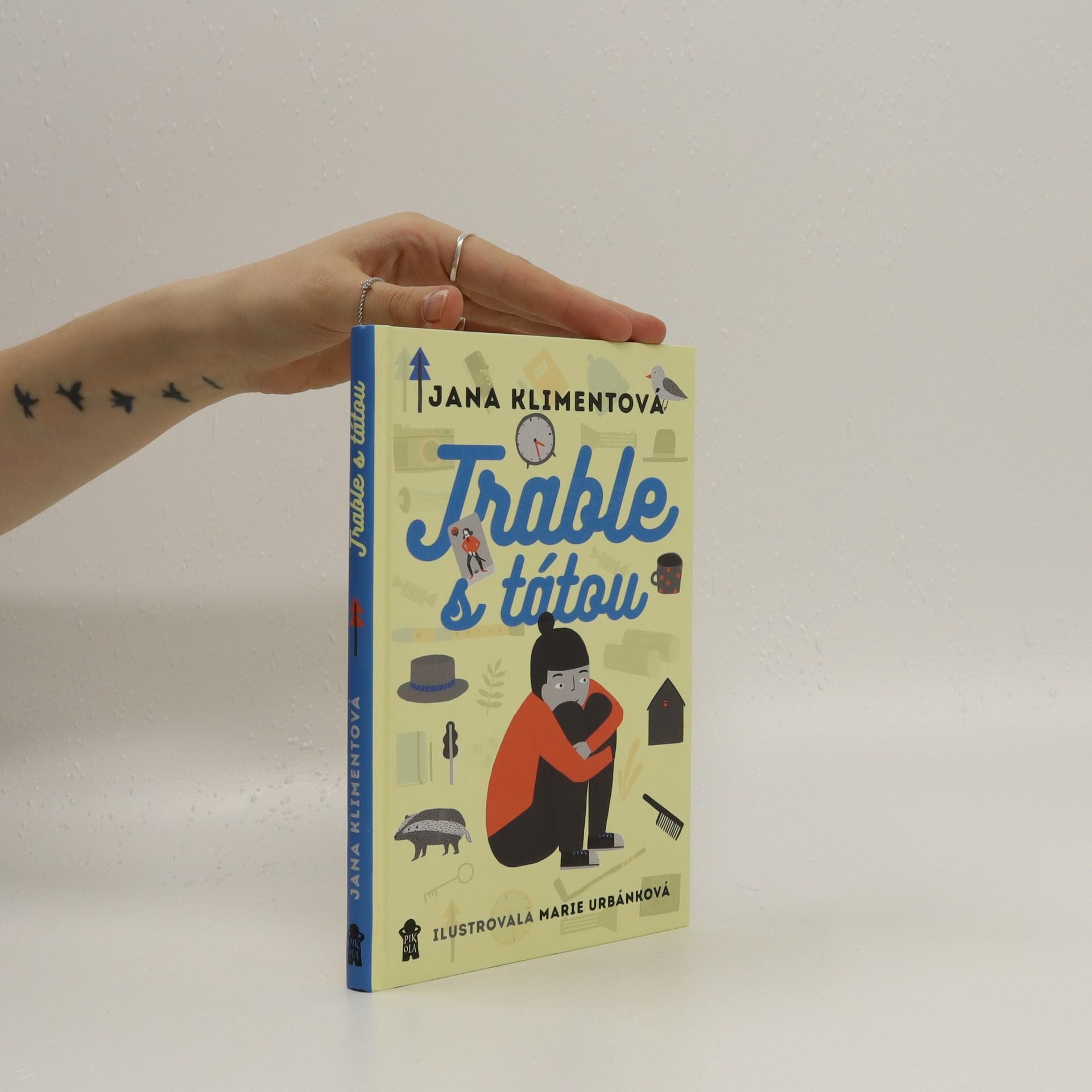 antikvární kniha Trable s tátou, 2018