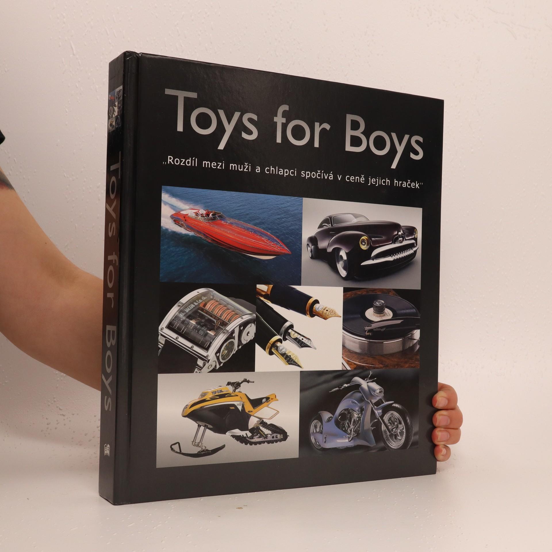 antikvární kniha Toys for boys (česky), 2007