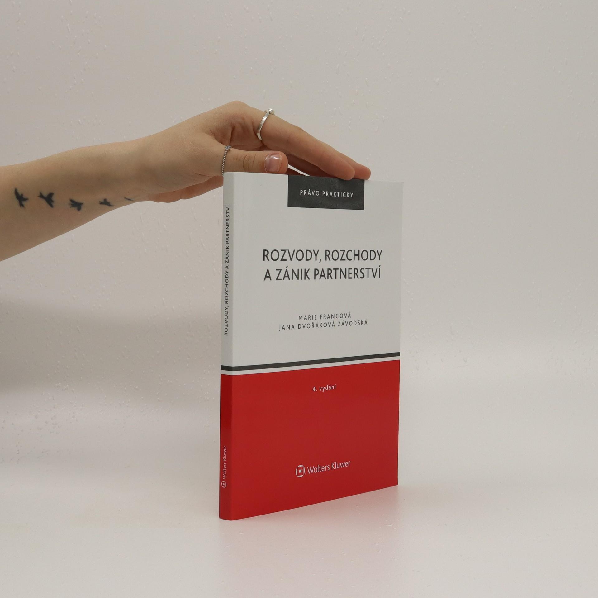 antikvární kniha Rozvody, rozchody a zánik partnerství, 2008