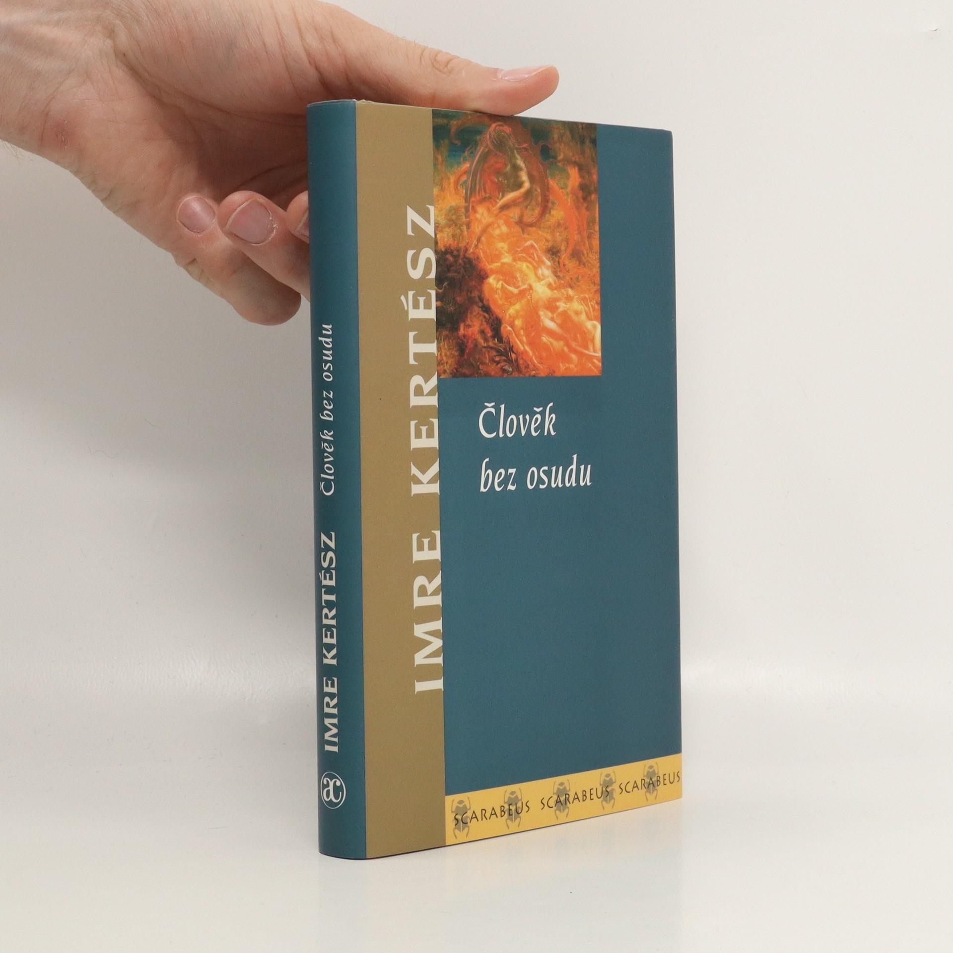 antikvární kniha Člověk bez osudu, 1993