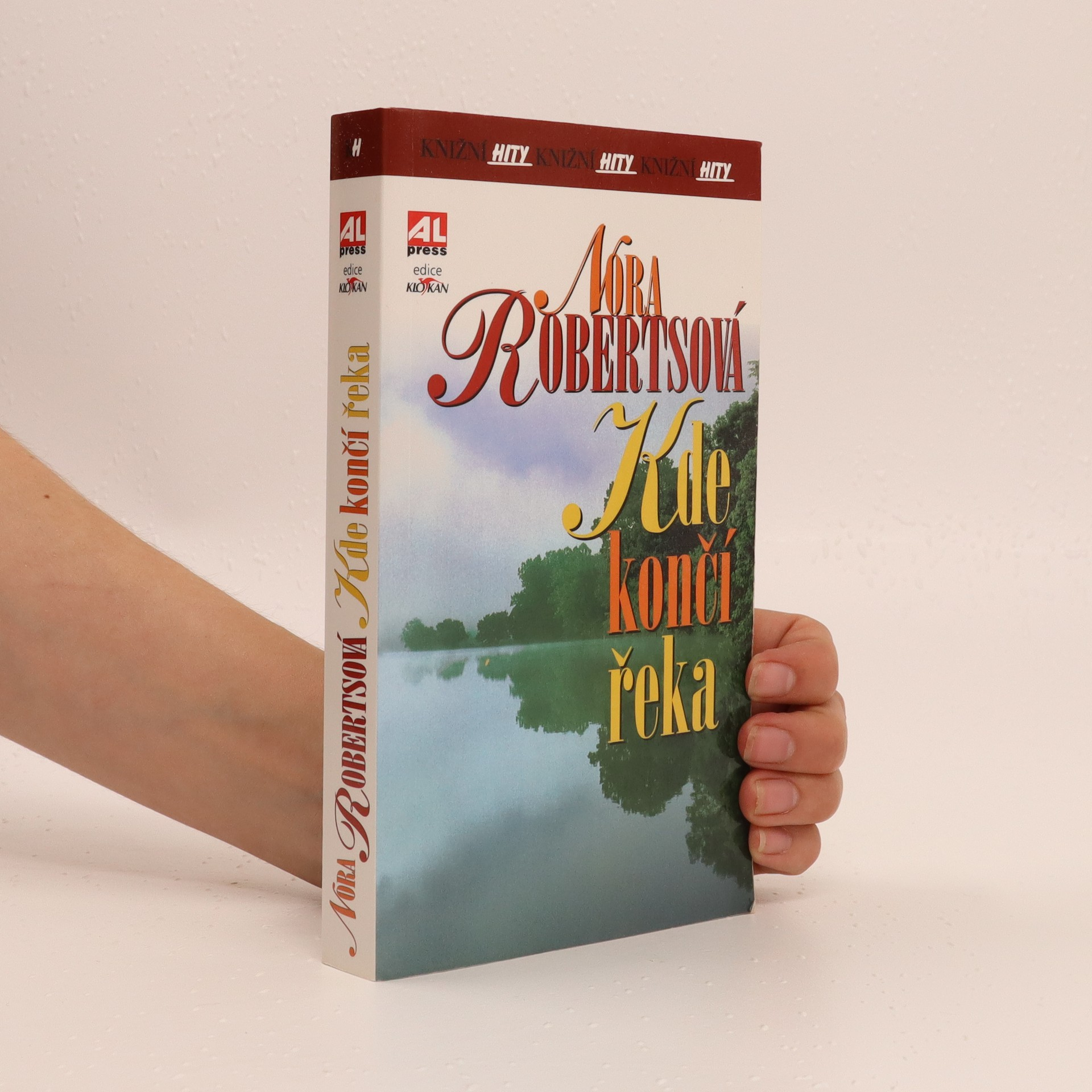 antikvární kniha Kde končí řeka, 2010