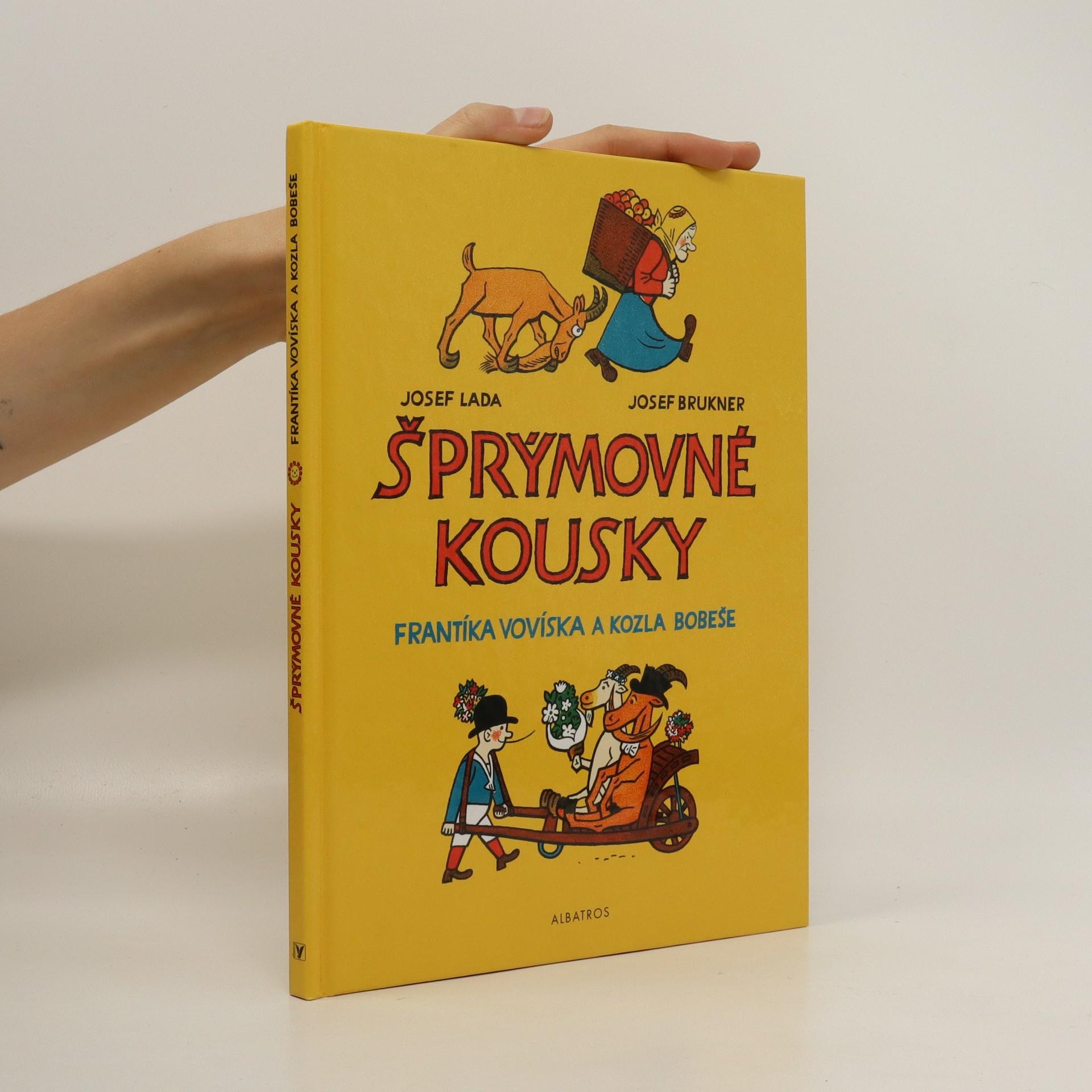 antikvární kniha Šprýmovné kousky Frantíka Vovíska a kozla Bobeše, 2004