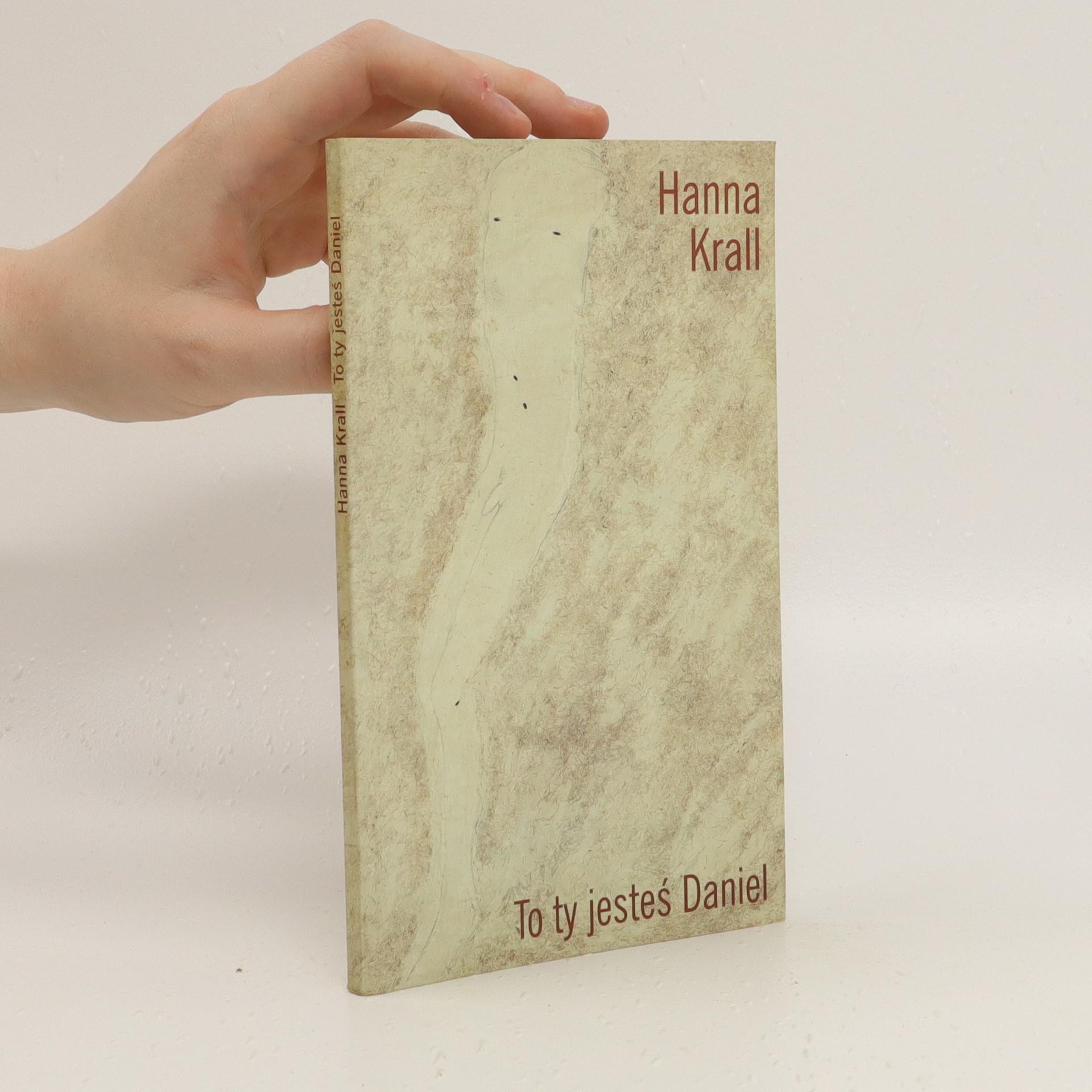 antikvární kniha To ty jesteś Daniel, 2001