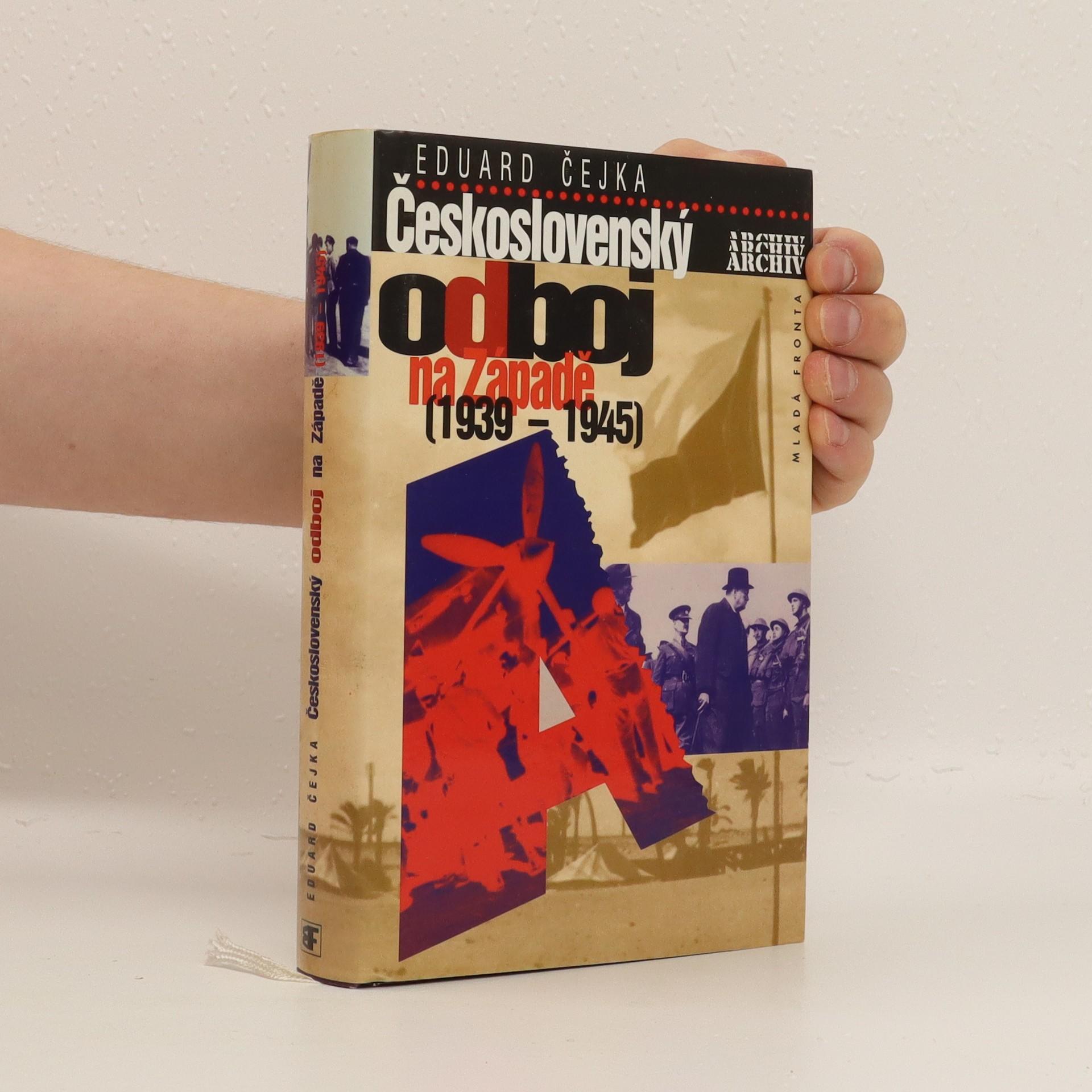 antikvární kniha Československý odboj na Západě, 1997