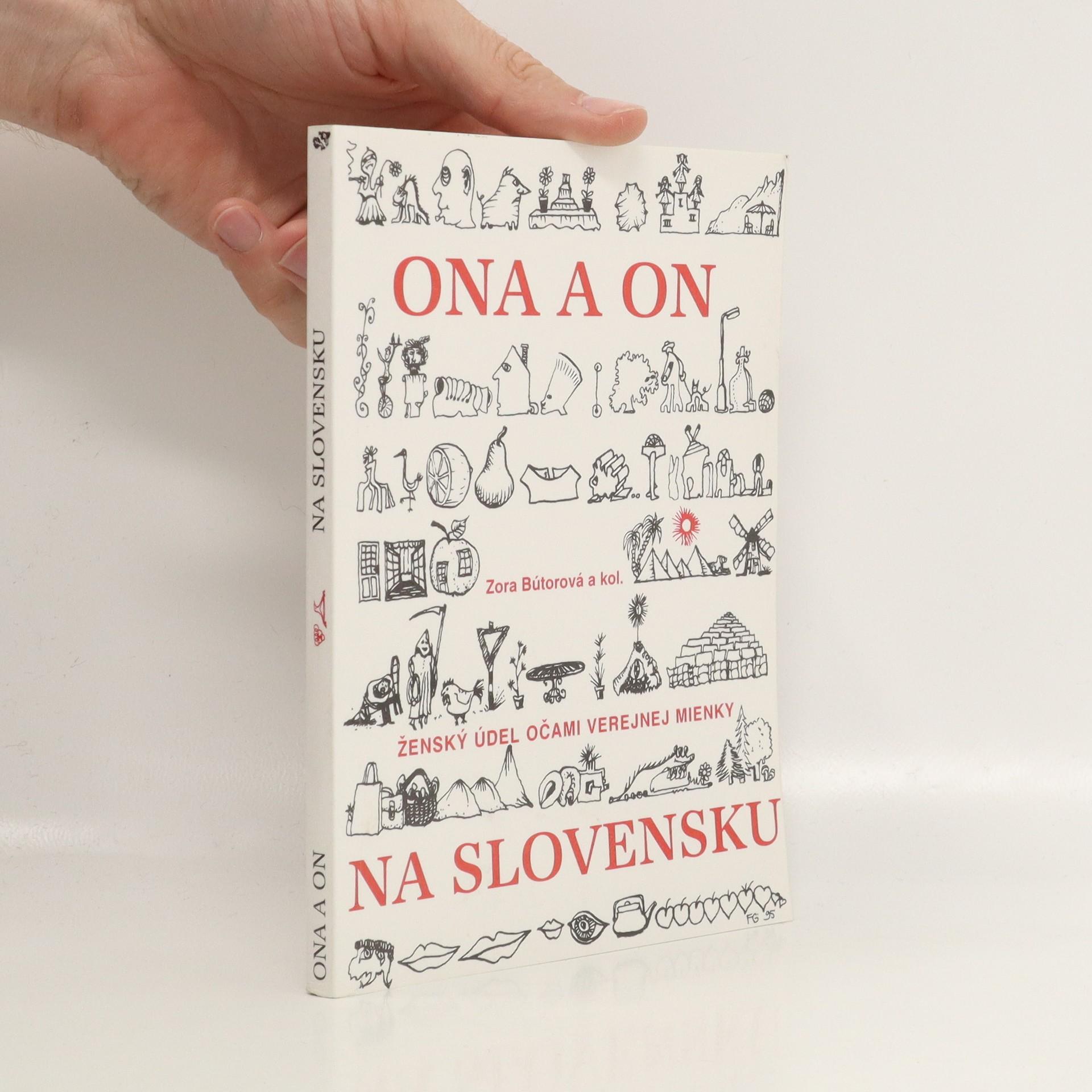 antikvární kniha On a ona na Slovensku : ženský údel očami verejnej mienky, 1996