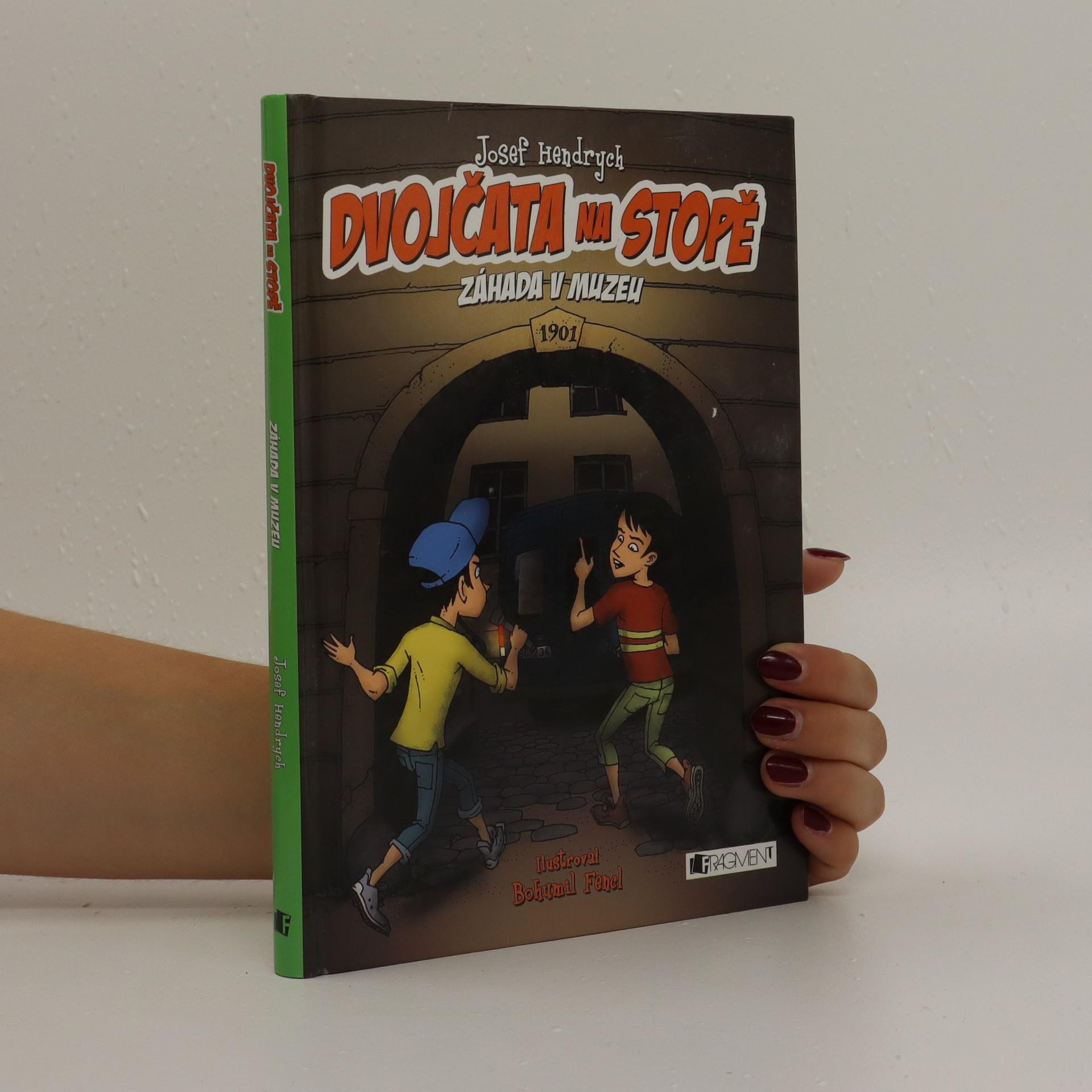 antikvární kniha Dvojčata na stopě. Záhada v muzeu, 2016