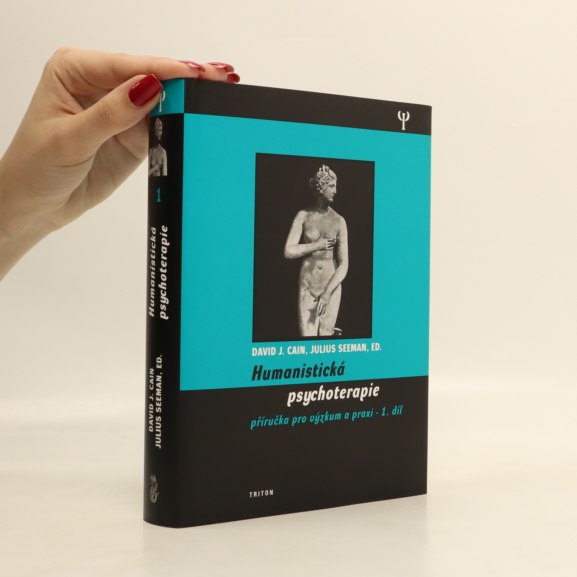 antikvární kniha Humanistická psychoterapie : příručka pro výzkum a praxi. 1 díl, 2002