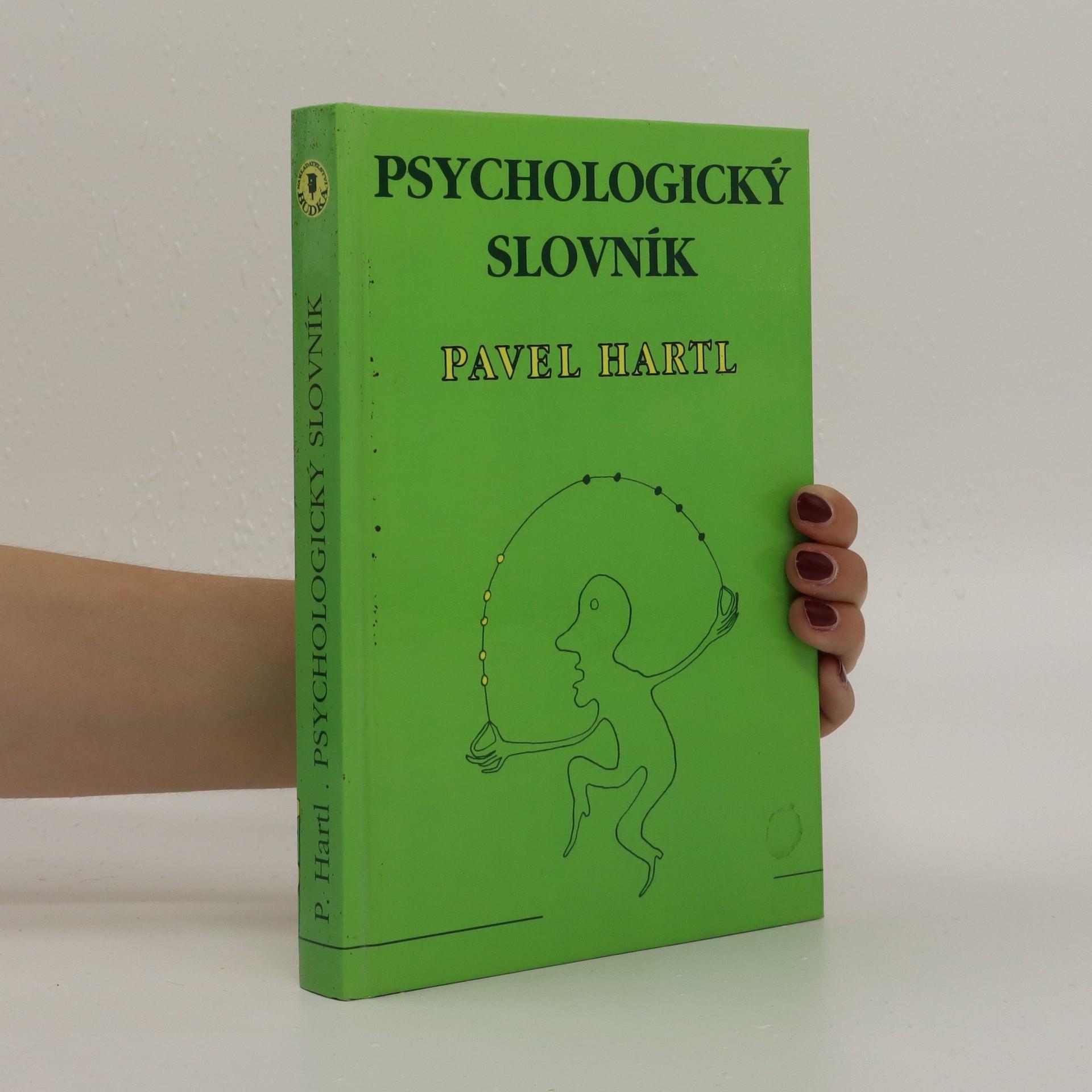 antikvární kniha Psychologický slovník, 1993
