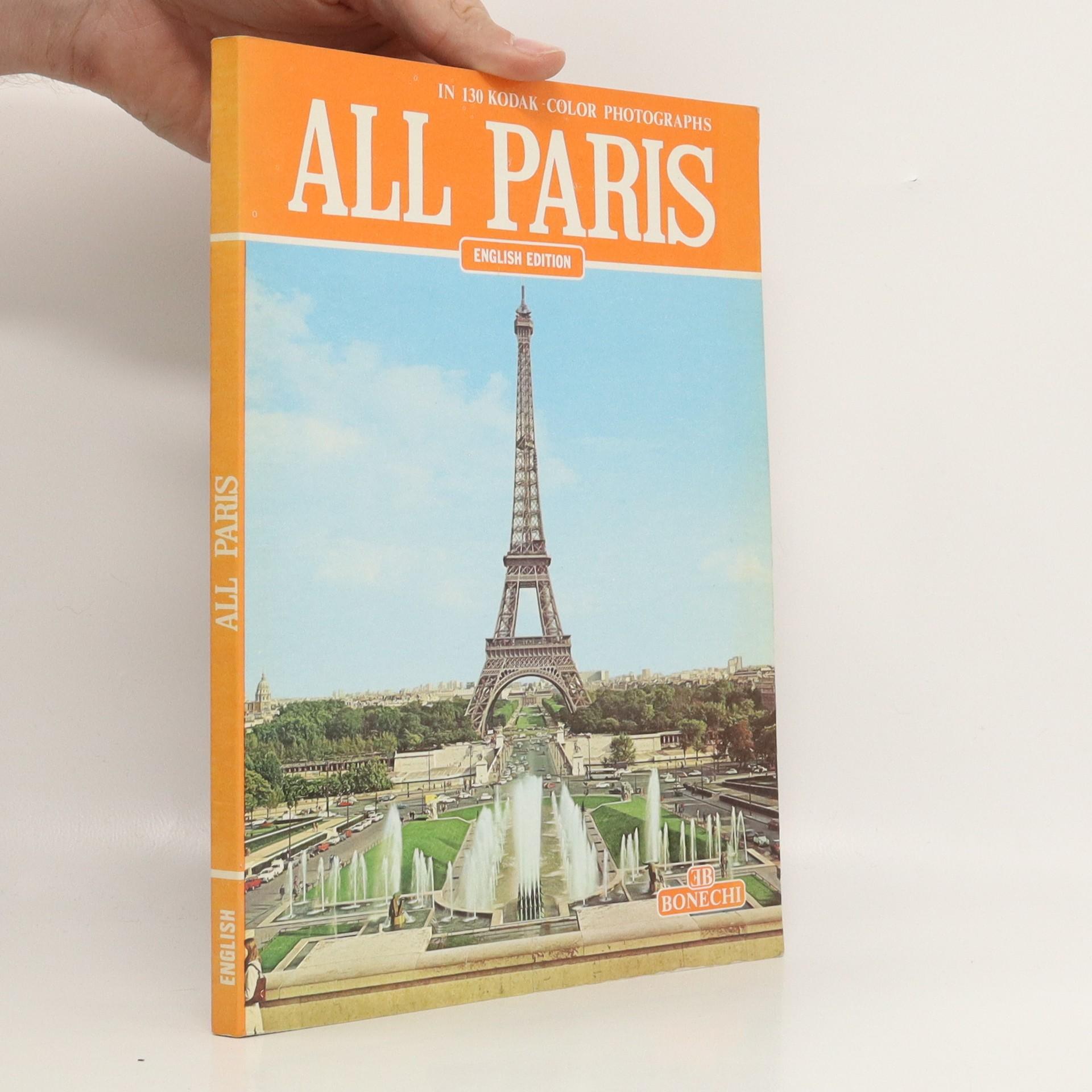 antikvární kniha All Paris, neuveden