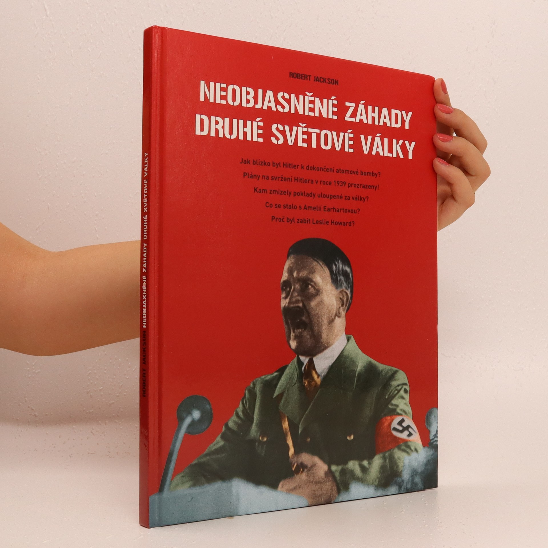 antikvární kniha Neobjasněné záhady druhé světové války, 2002