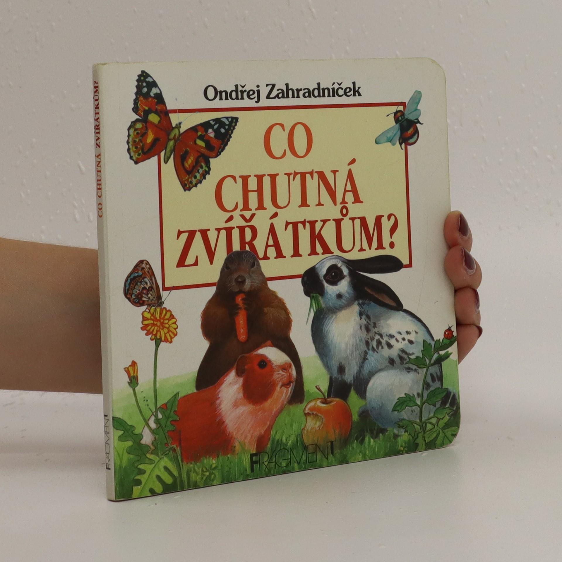antikvární kniha Co chutná zvířátkům?, 1998
