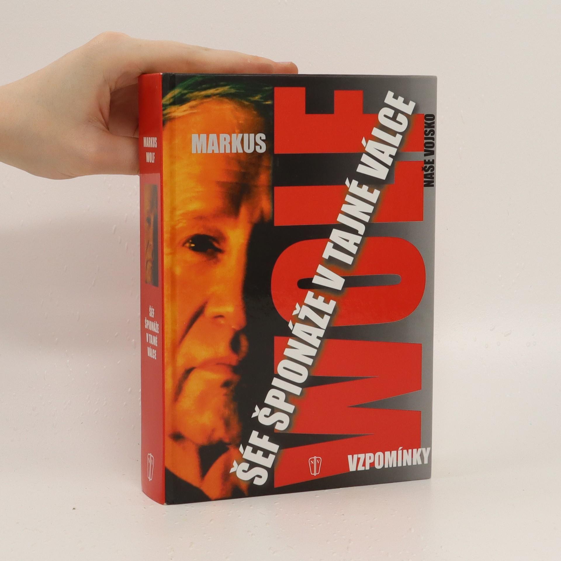 antikvární kniha Šéf špionáže v tajné válce, 2004