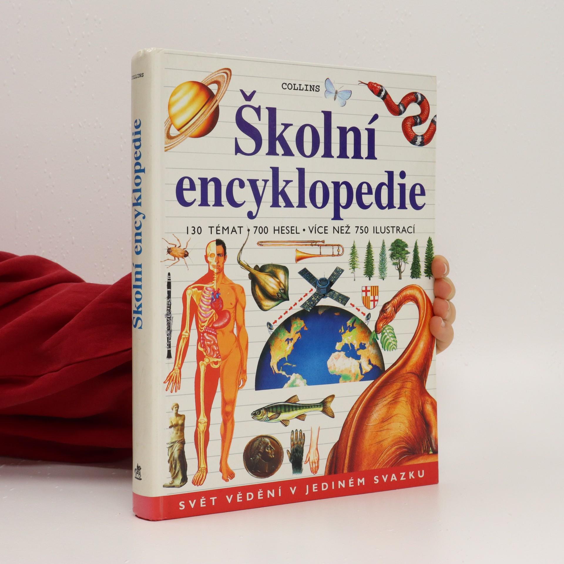 antikvární kniha Školní encyklopedie, 2001